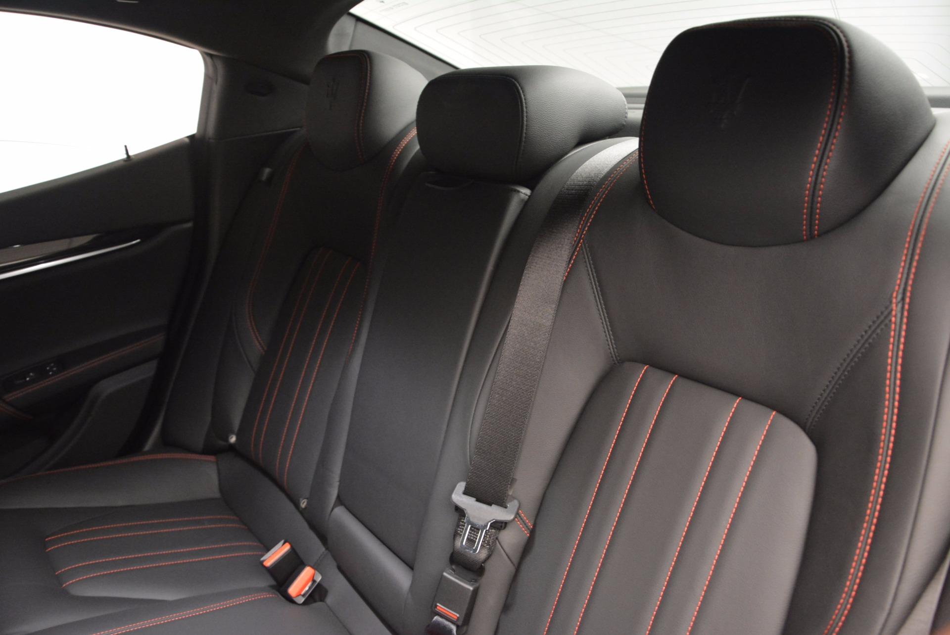 New 2017 Maserati Ghibli S Q4 For Sale In Westport, CT 1113_p17