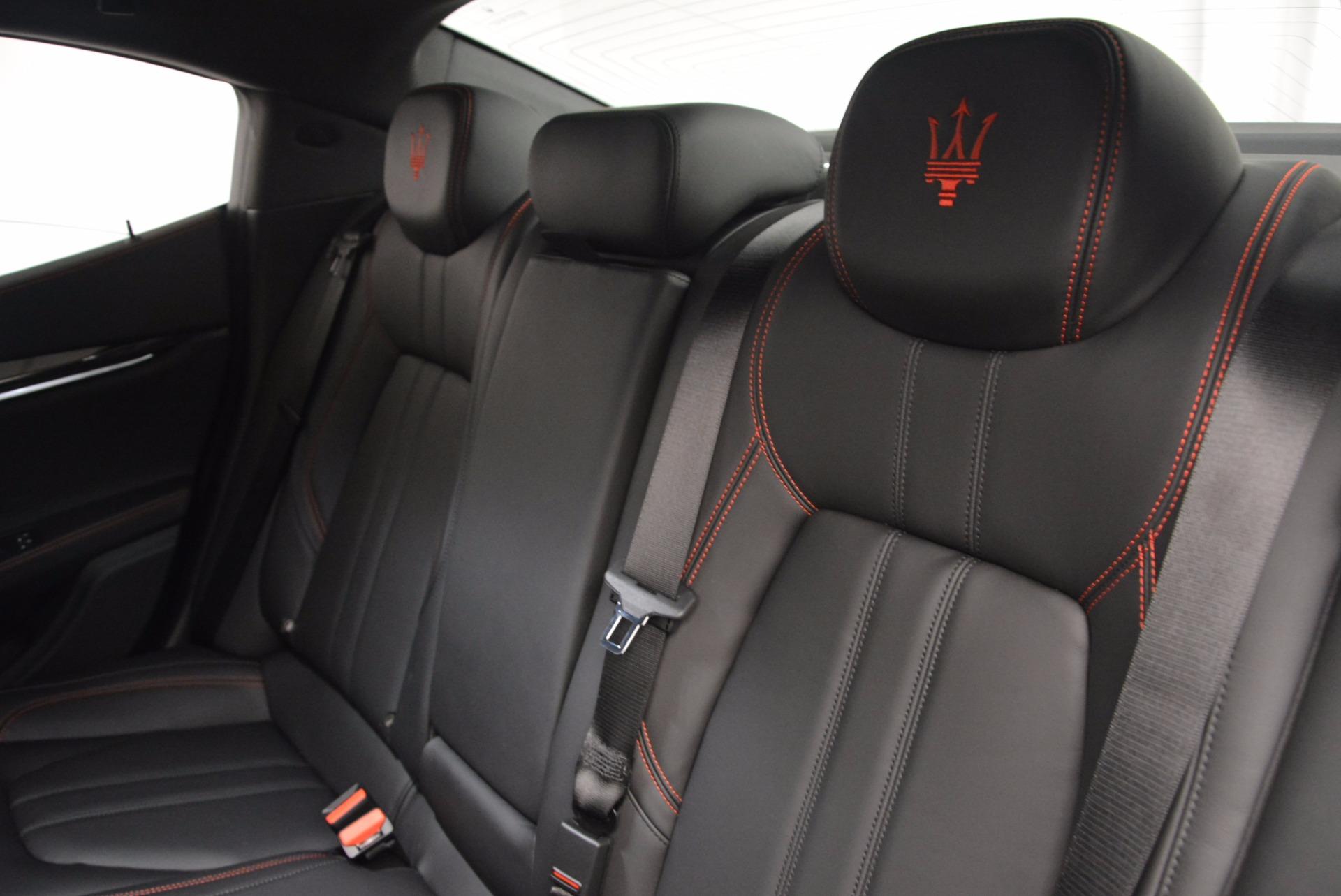 New 2017 Maserati Ghibli S Q4 For Sale In Westport, CT 1114_p19