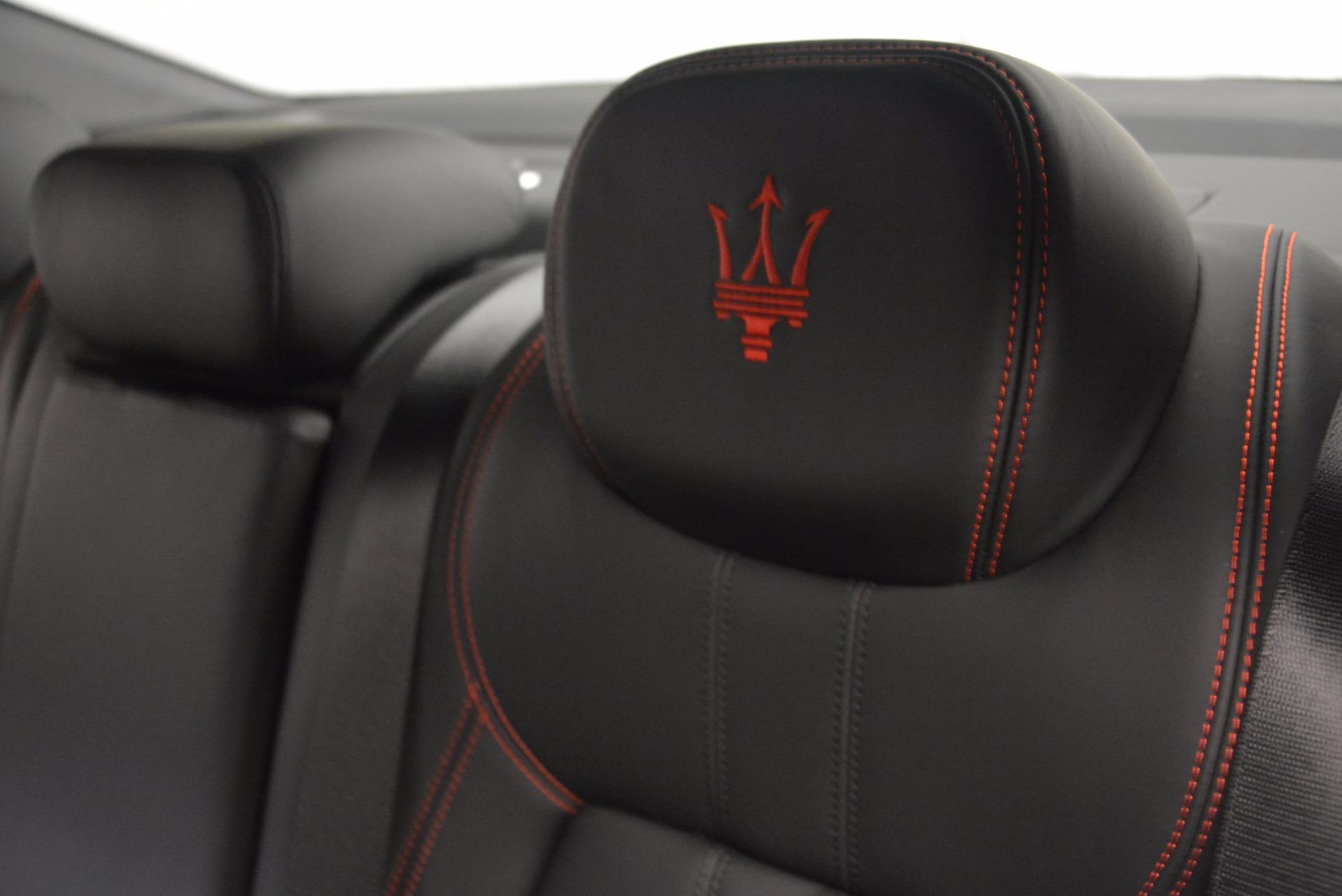 New 2017 Maserati Ghibli S Q4 For Sale In Westport, CT 1114_p20