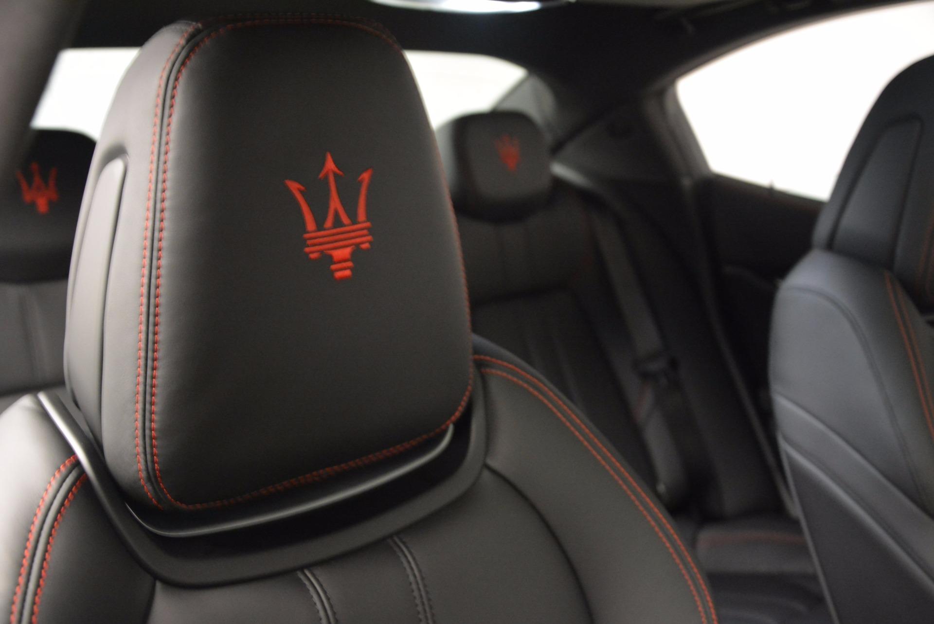 New 2017 Maserati Ghibli S Q4 For Sale In Westport, CT 1114_p24