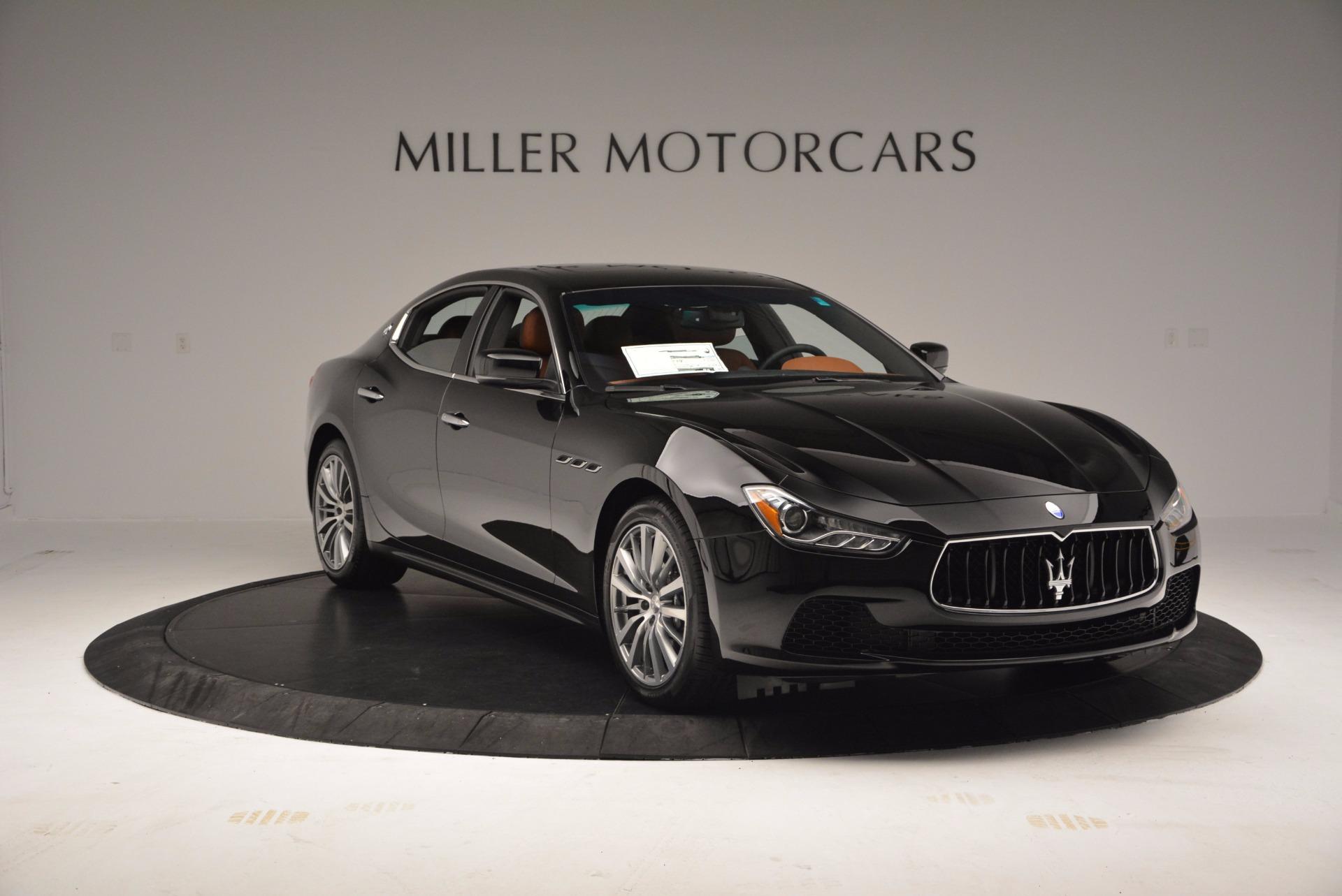 New 2017 Maserati Ghibli S Q4 EX-LOANER For Sale In Westport, CT 1115_p11