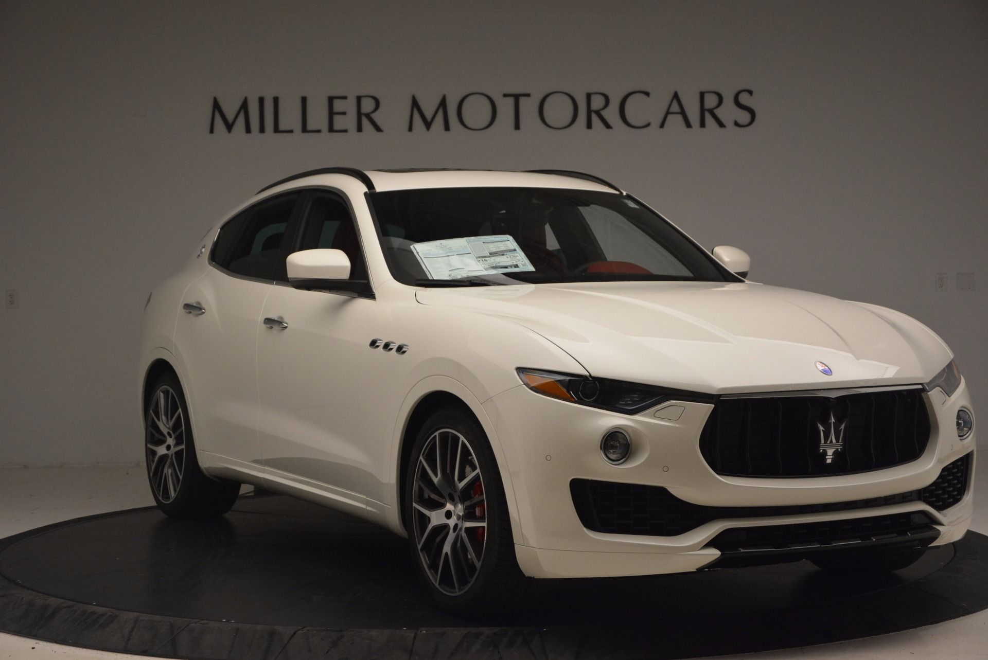 New 2017 Maserati Levante S For Sale In Westport, CT 1117_p11