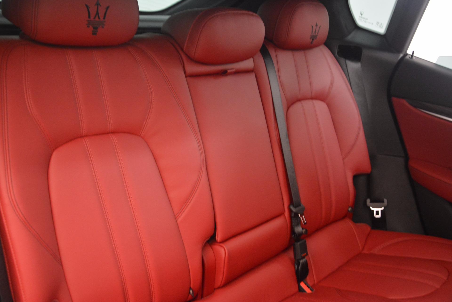 New 2017 Maserati Levante S For Sale In Westport, CT 1117_p29