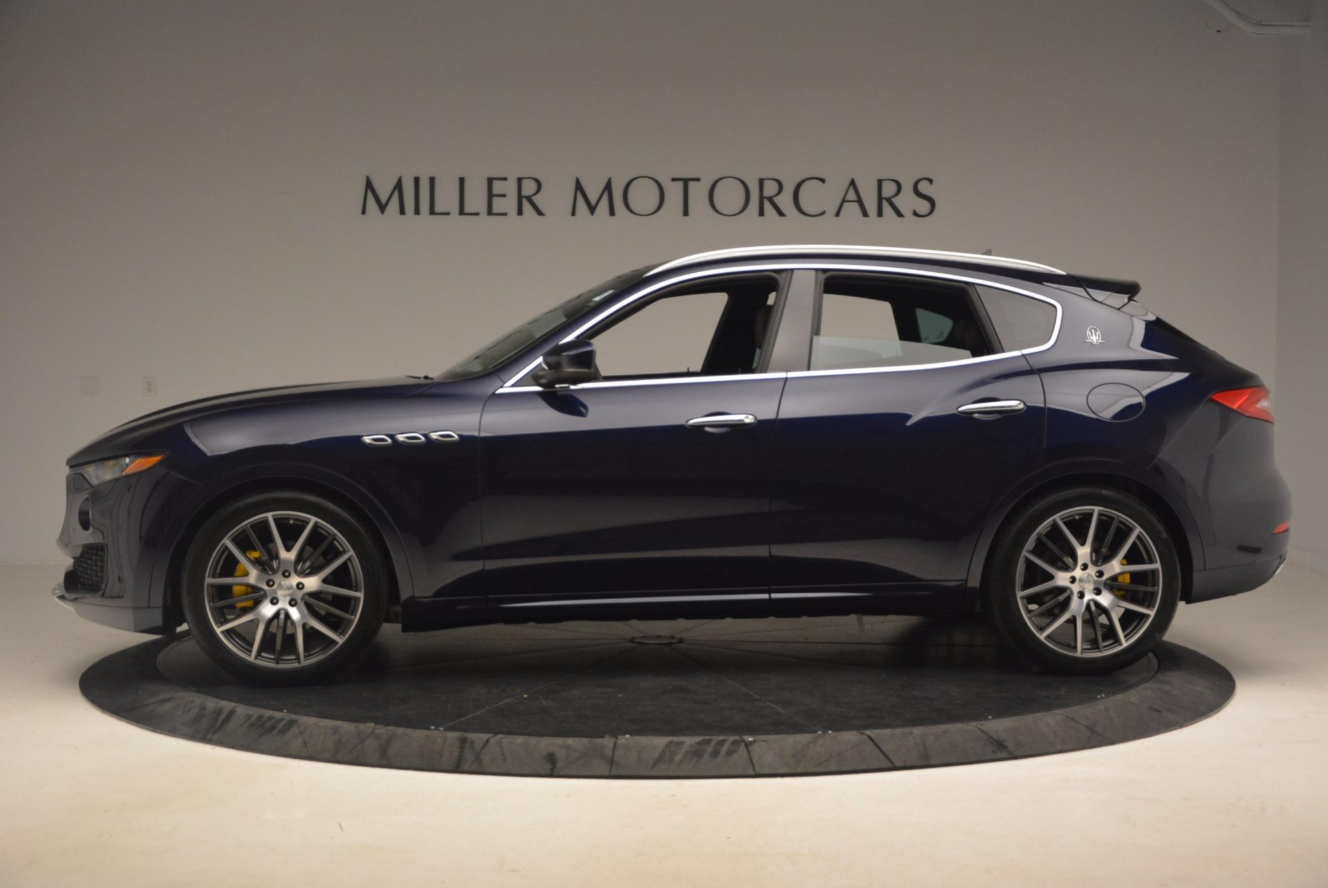 New 2017 Maserati Levante  For Sale In Westport, CT 1118_p3