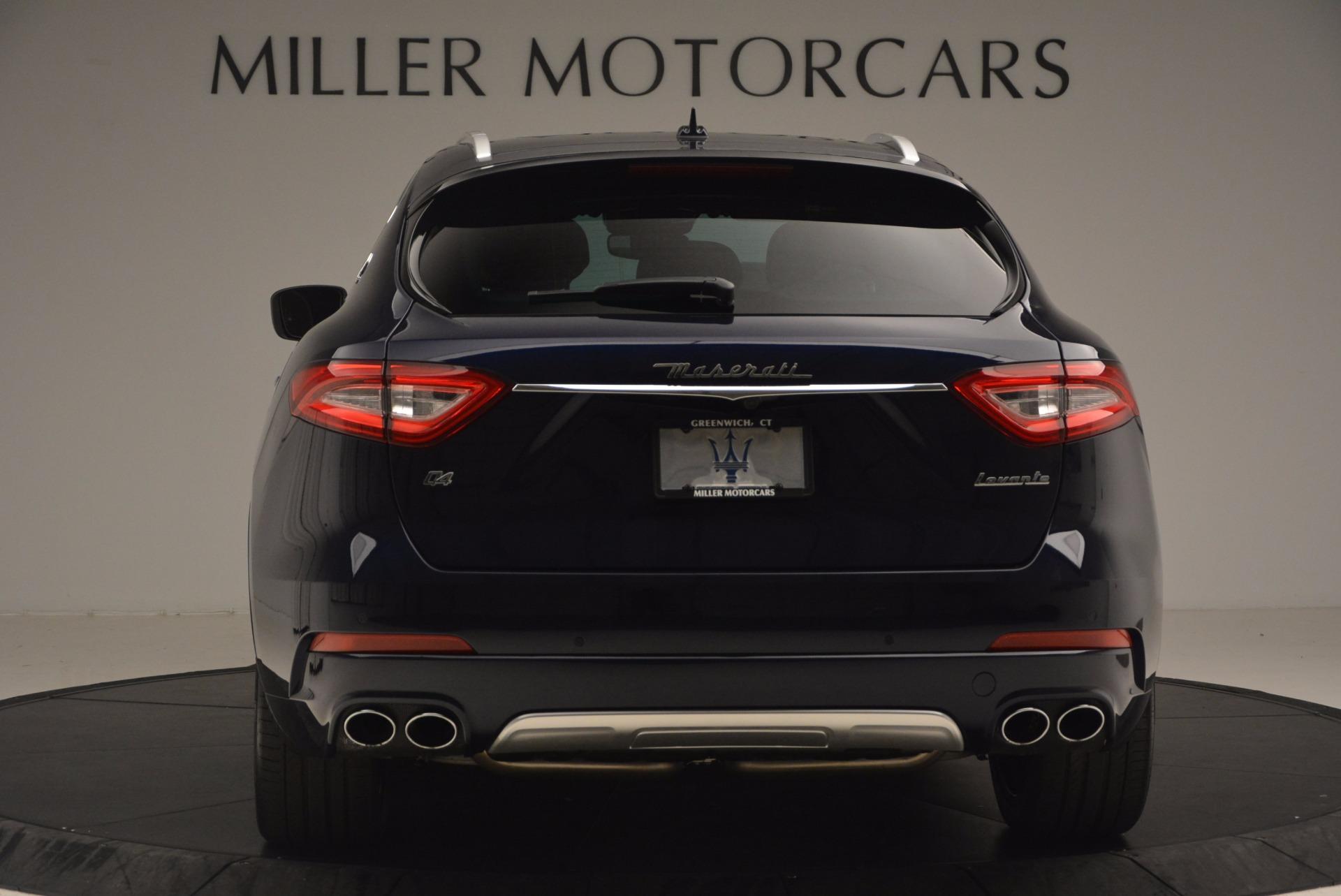 New 2017 Maserati Levante  For Sale In Westport, CT 1118_p6