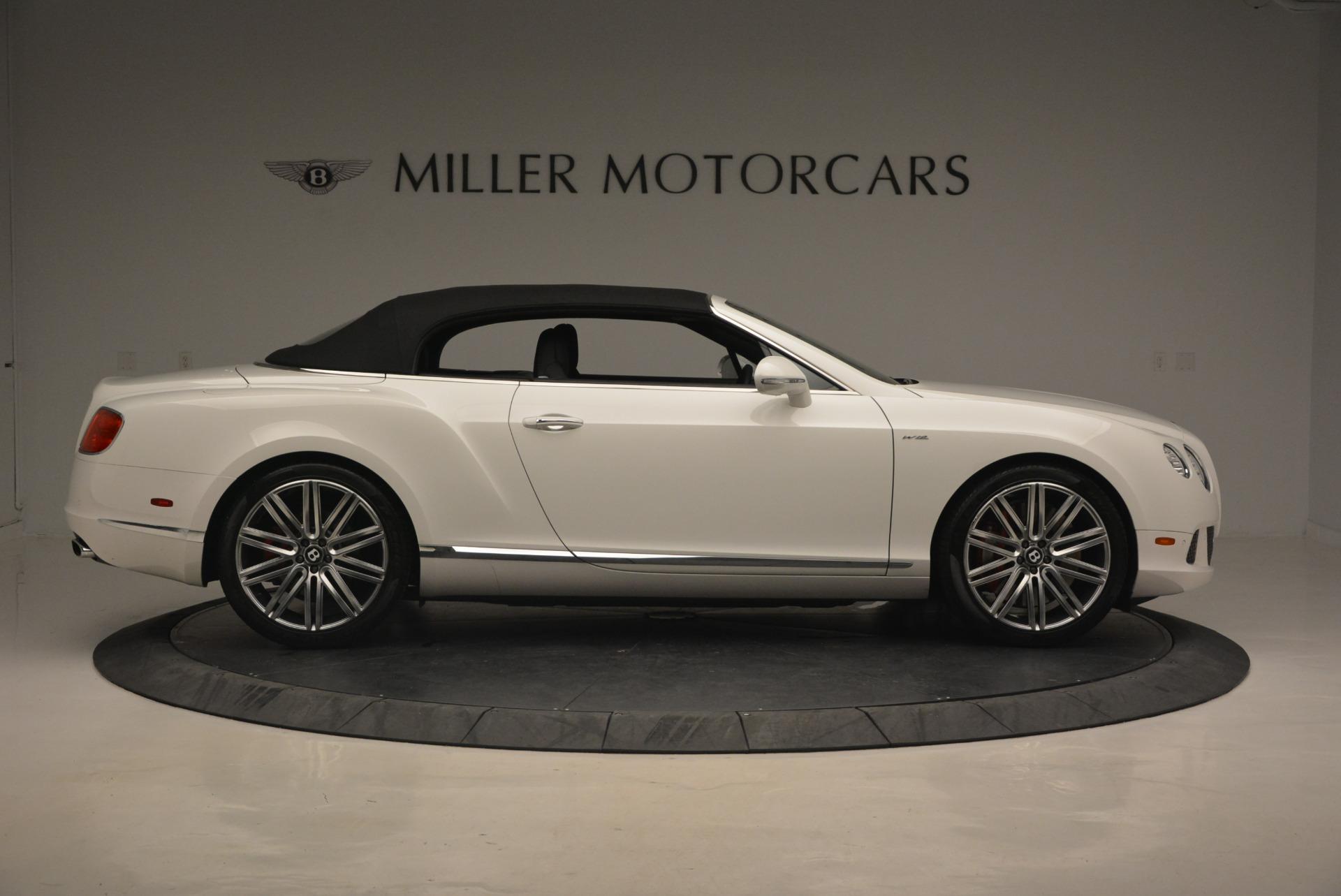 Used 2014 Bentley Continental GT Speed For Sale In Westport, CT 1129_p21