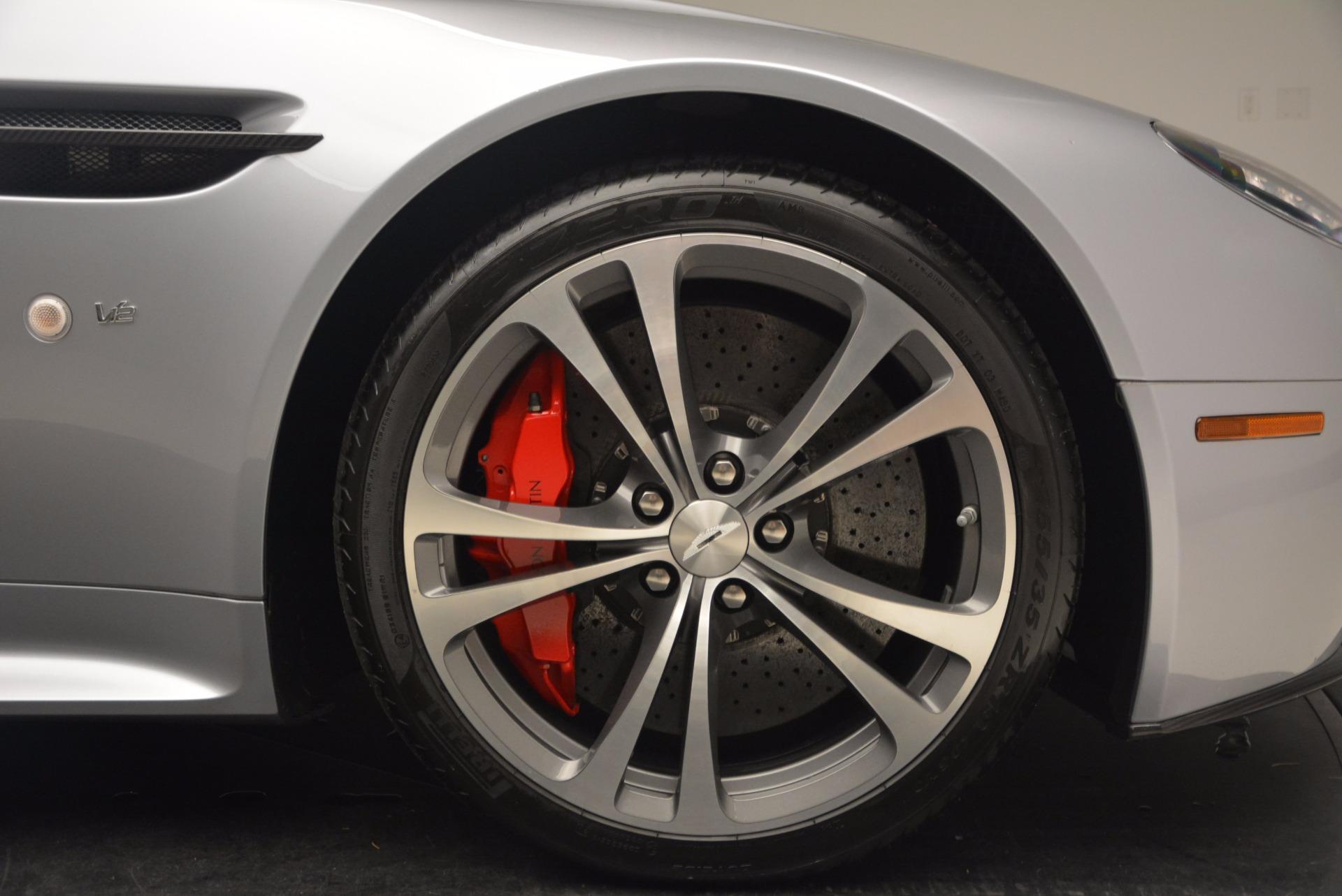 Used 2015 Aston Martin V12 Vantage S Roadster For Sale In Westport, CT 1130_p29