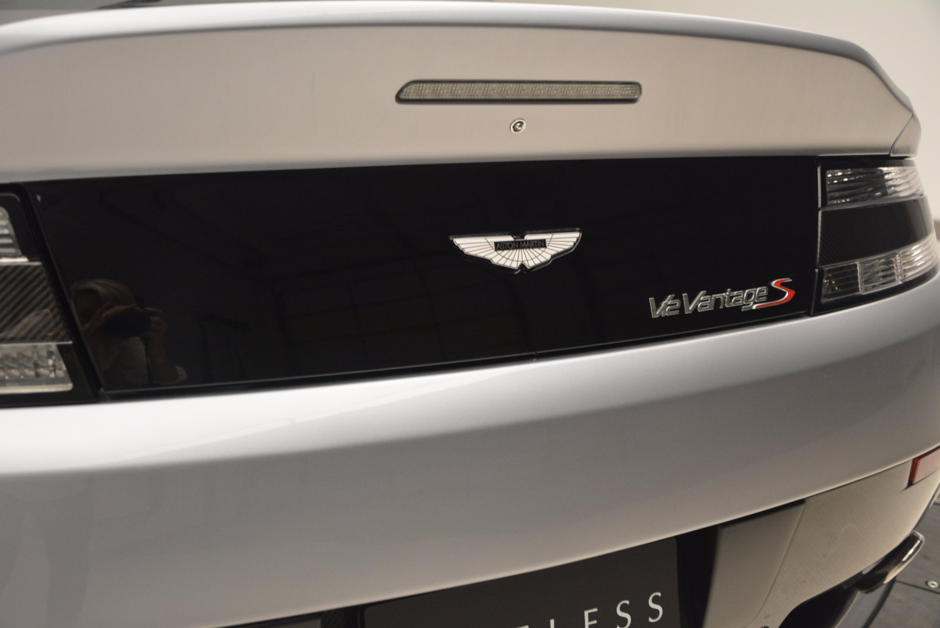 Used 2015 Aston Martin V12 Vantage S Roadster For Sale In Westport, CT 1130_p31