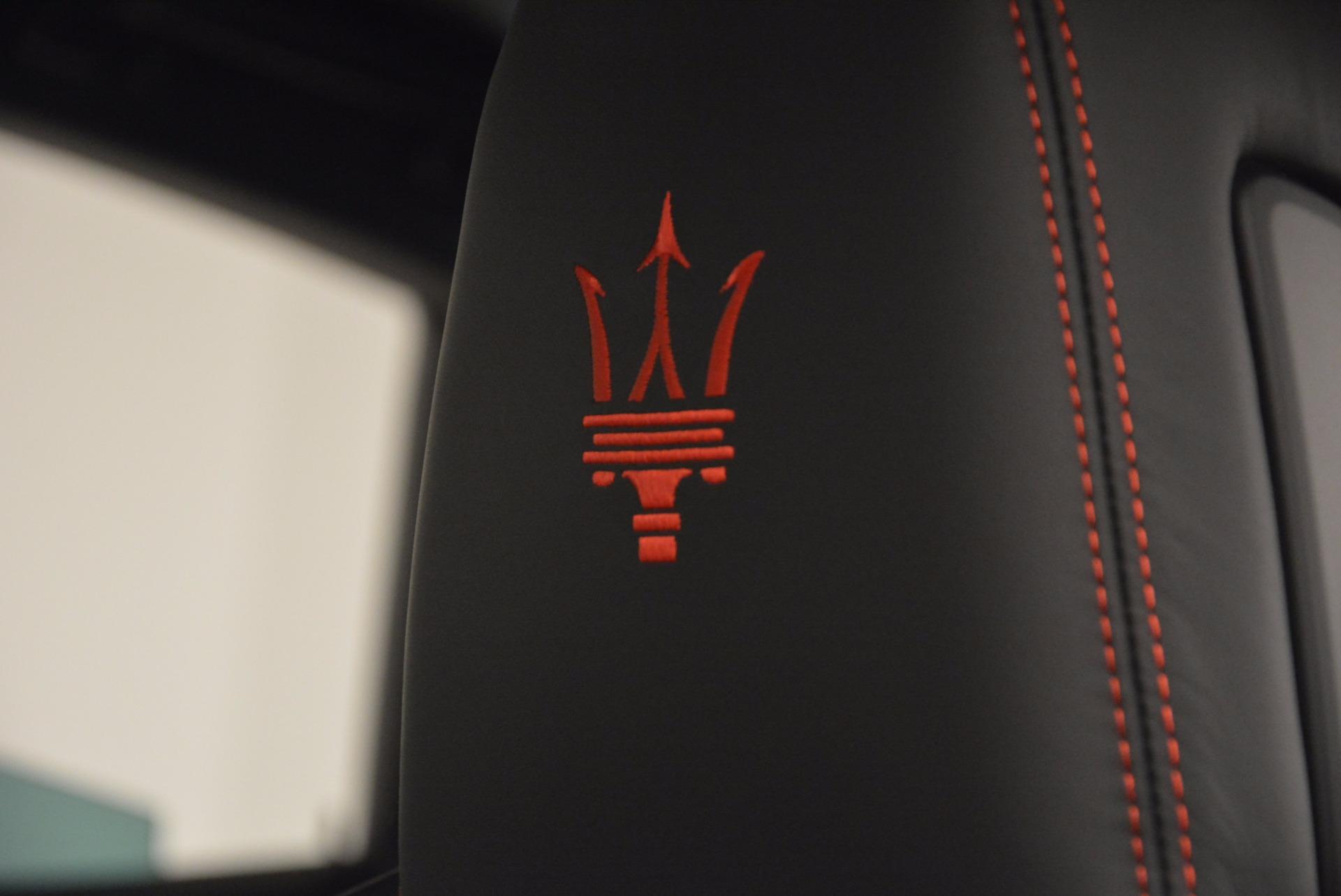 New 2017 Maserati Levante  For Sale In Westport, CT 1143_p18
