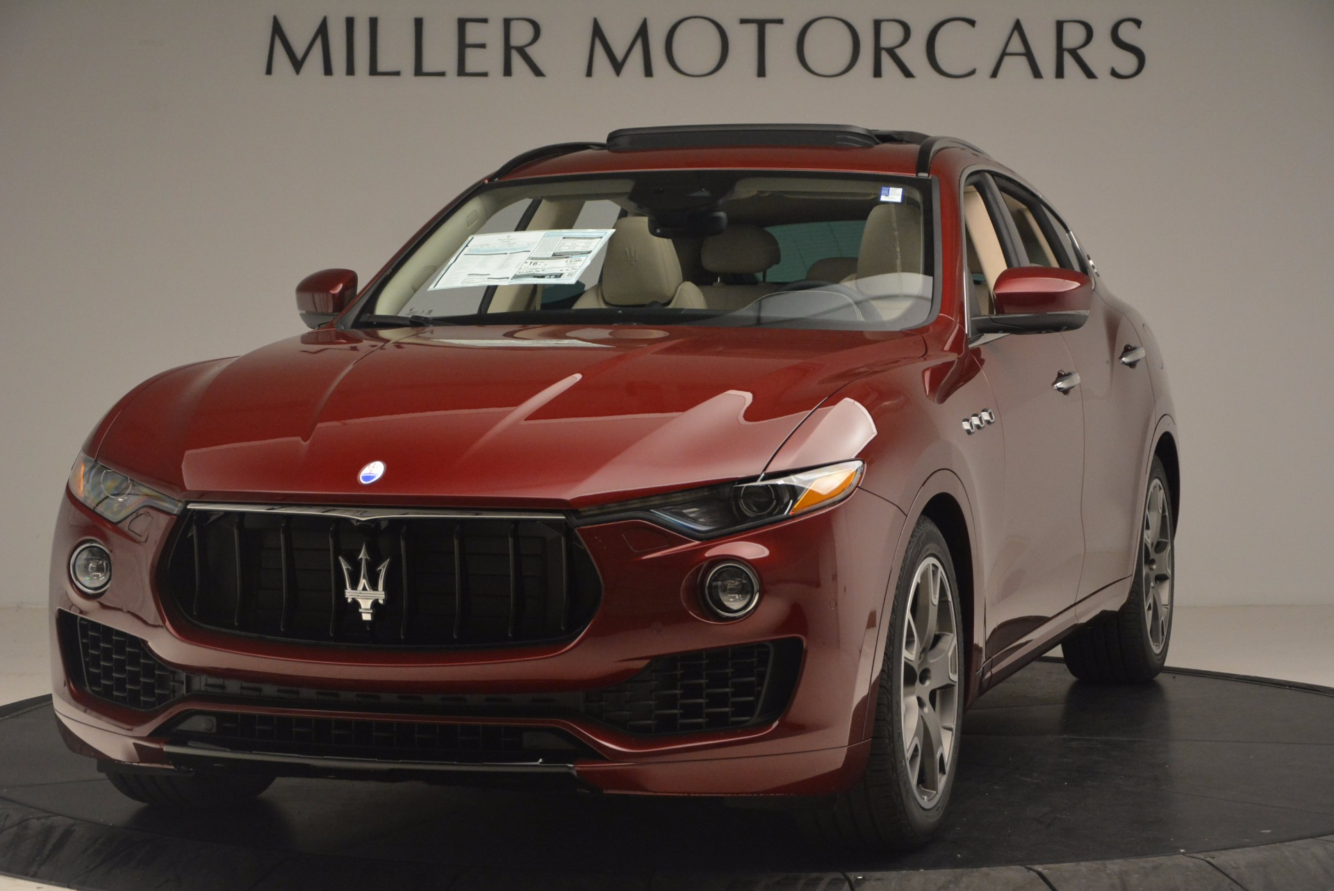 New 2017 Maserati Levante  For Sale In Westport, CT 1144_main
