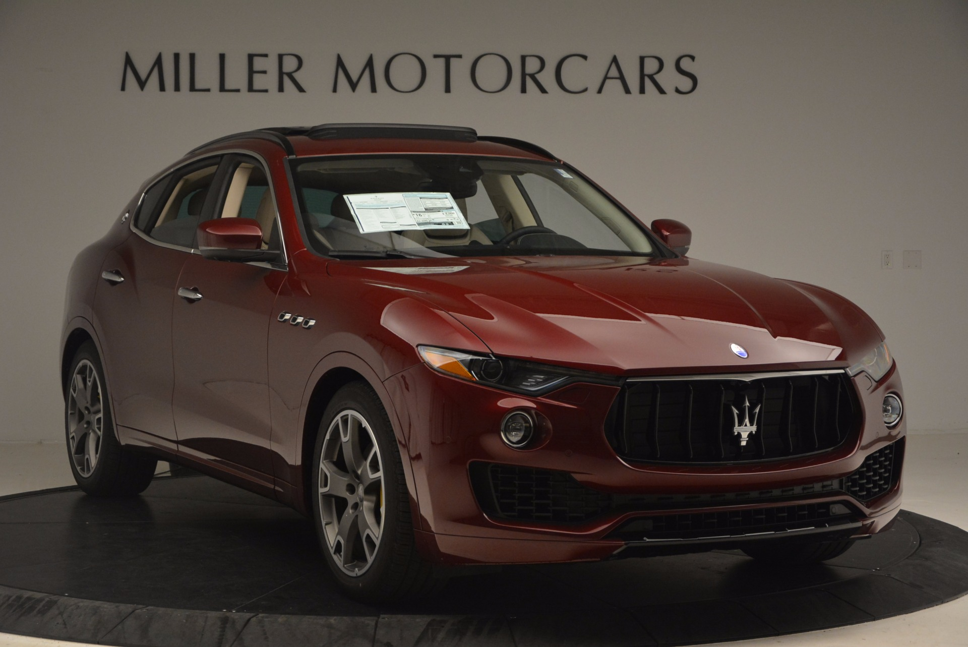 New 2017 Maserati Levante  For Sale In Westport, CT 1144_p12