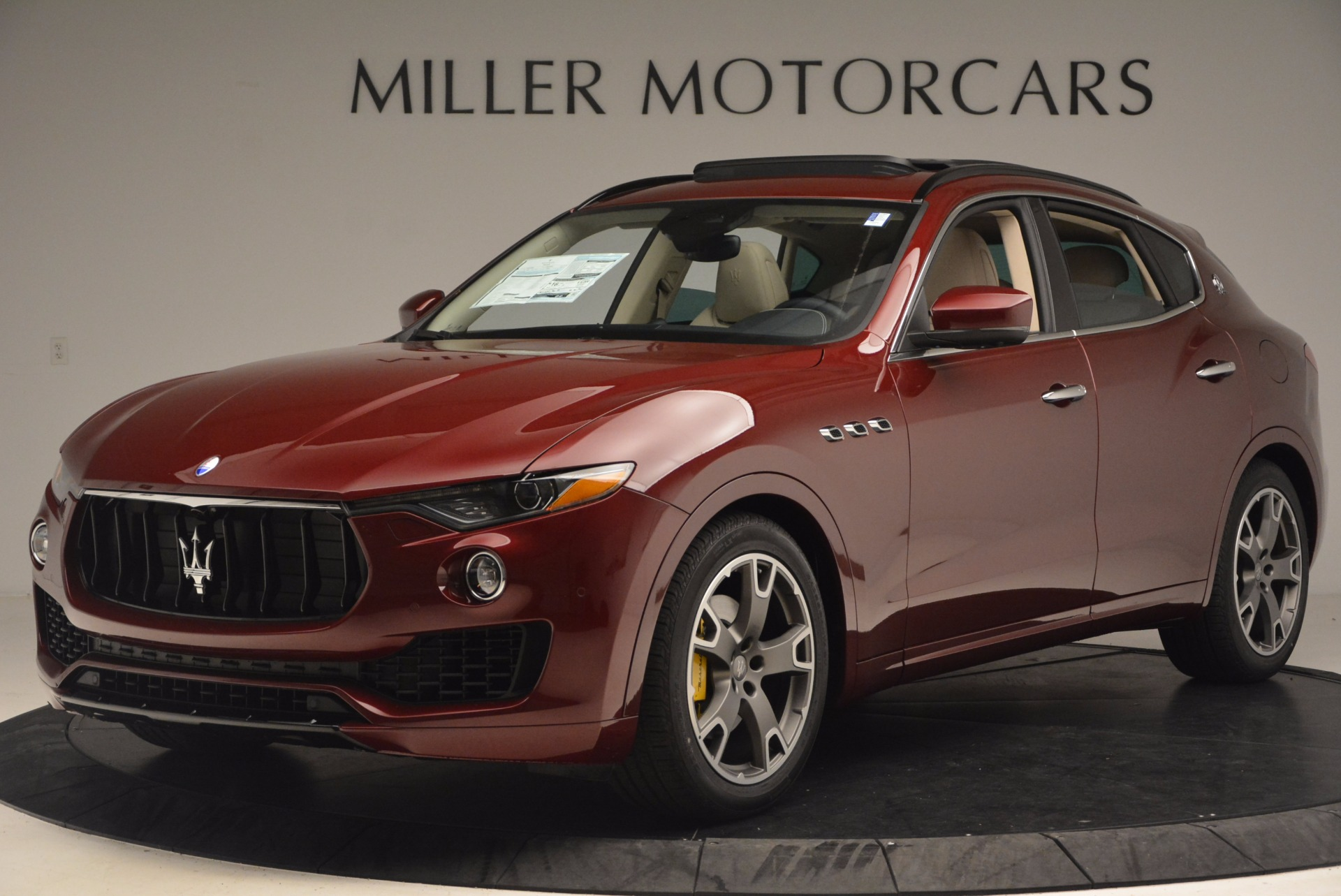 New 2017 Maserati Levante  For Sale In Westport, CT 1144_p2