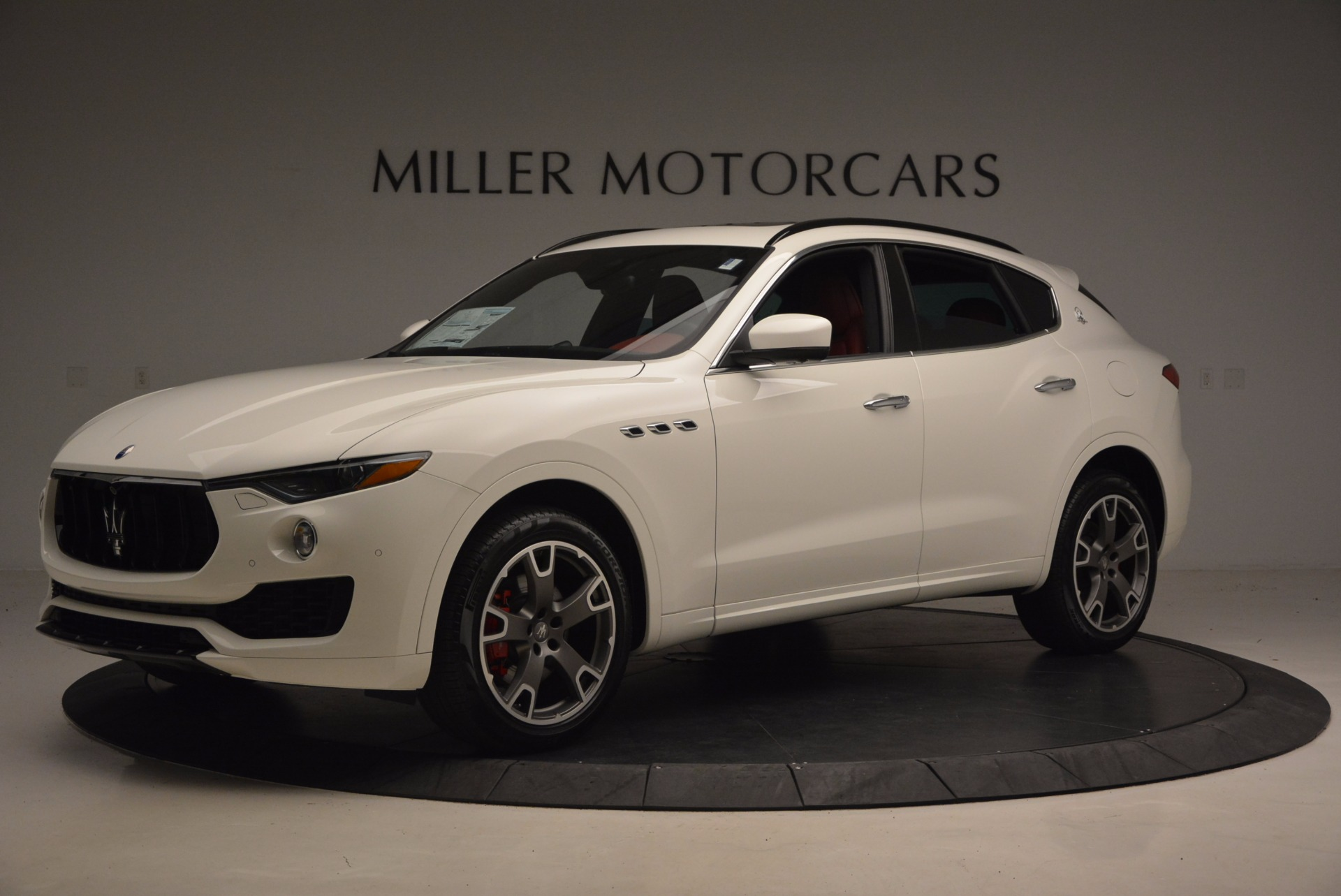 New 2017 Maserati Levante  For Sale In Westport, CT 1145_p2
