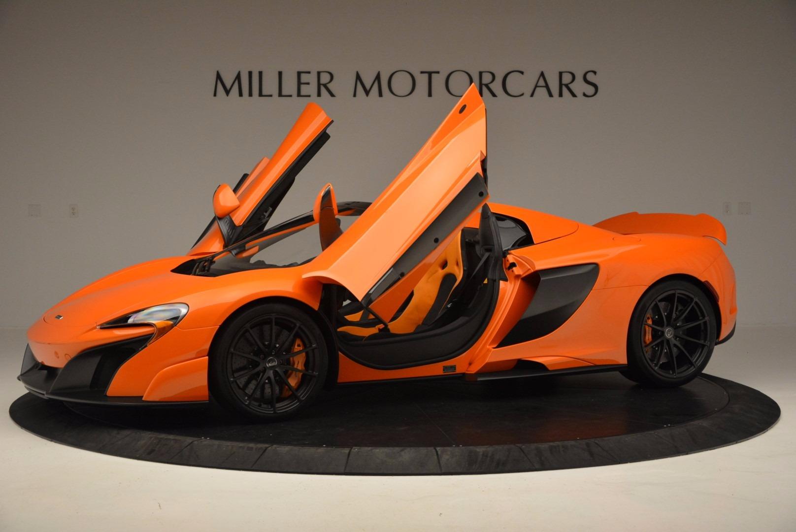 Used 2016 McLaren 675LT Spider Convertible For Sale In Westport, CT 1150_p14