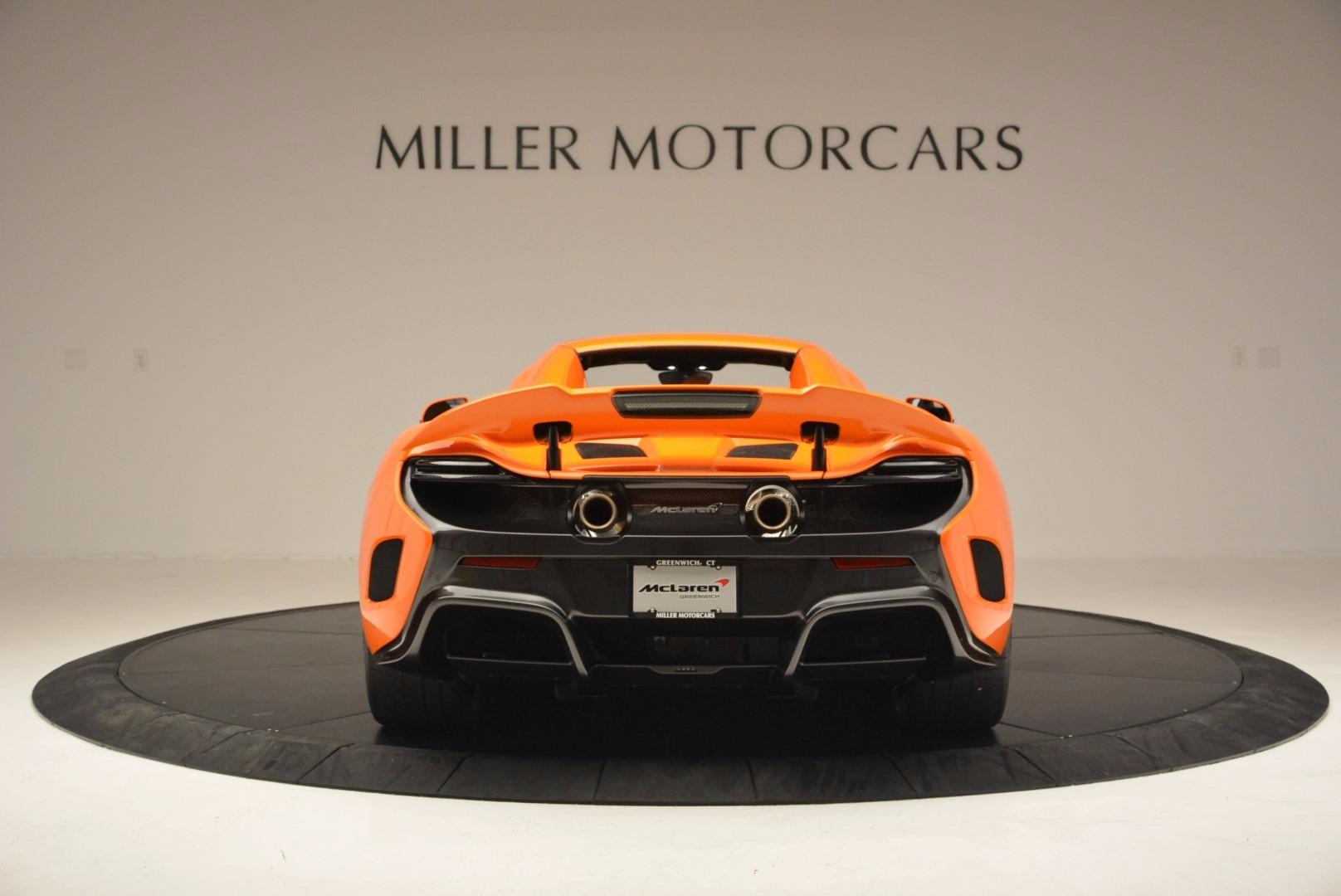 Used 2016 McLaren 675LT Spider Convertible For Sale In Westport, CT 1150_p17