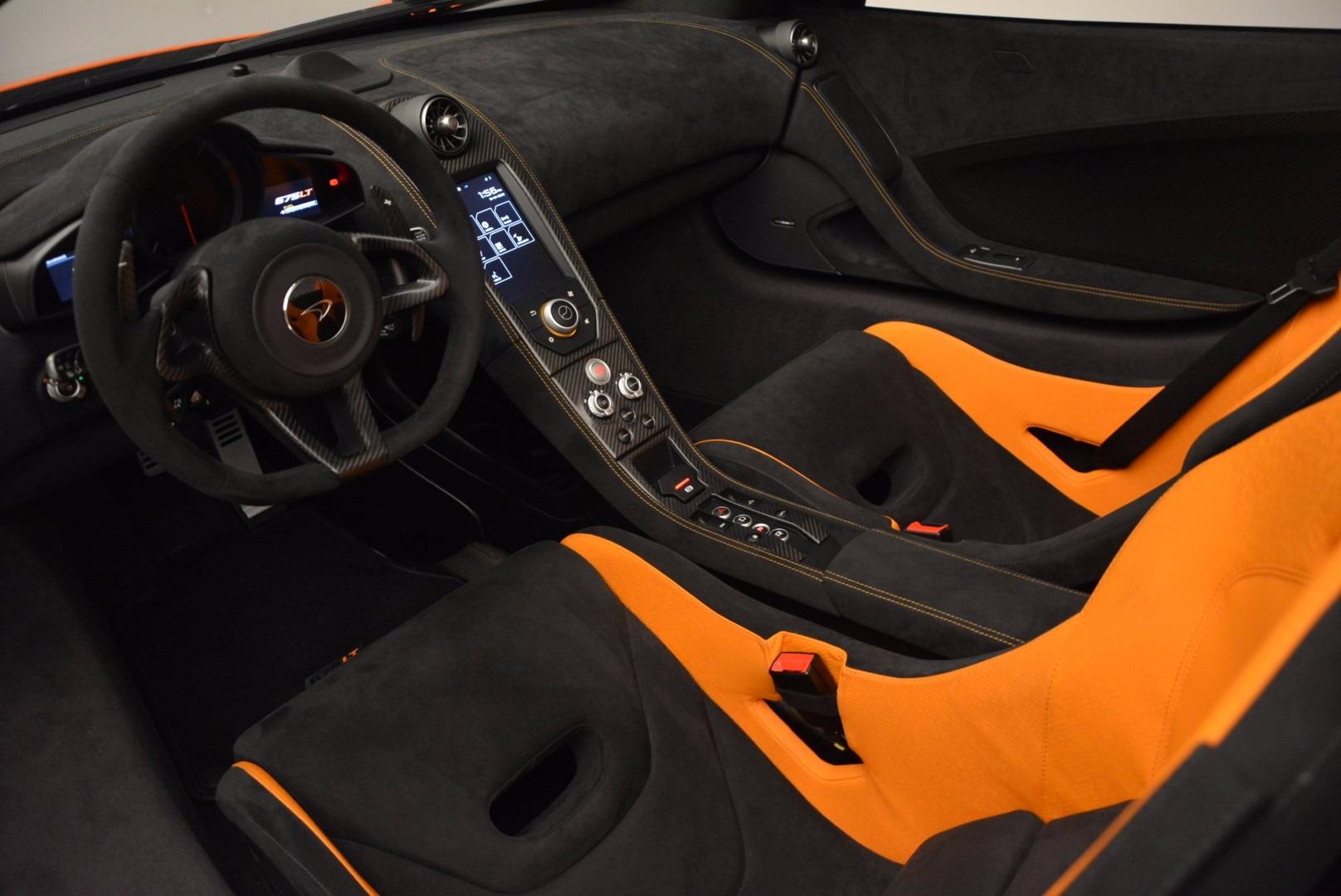 Used 2016 McLaren 675LT Spider Convertible For Sale In Westport, CT 1150_p22