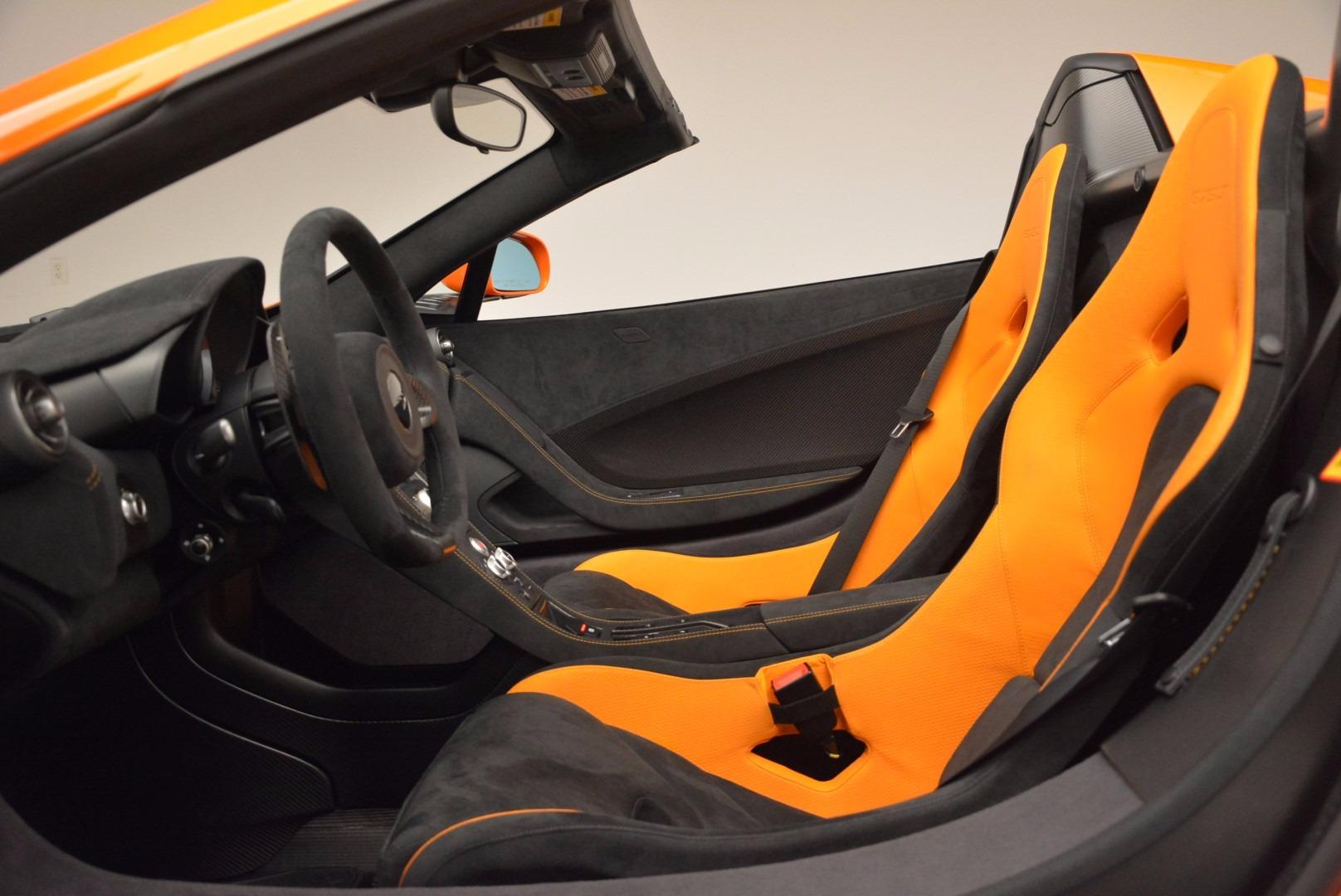 Used 2016 McLaren 675LT Spider Convertible For Sale In Westport, CT 1150_p23