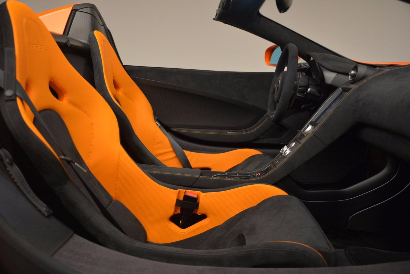 Used 2016 McLaren 675LT Spider Convertible For Sale In Westport, CT 1150_p26
