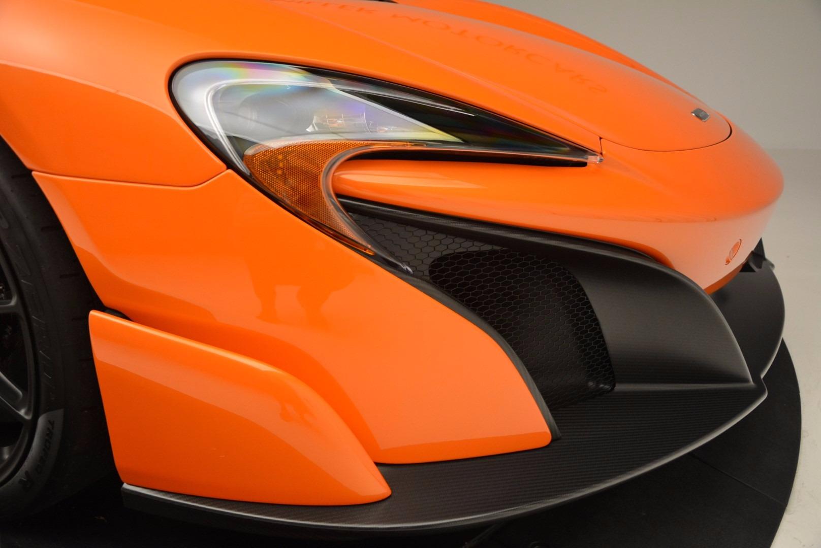 Used 2016 McLaren 675LT Spider Convertible For Sale In Westport, CT 1150_p28