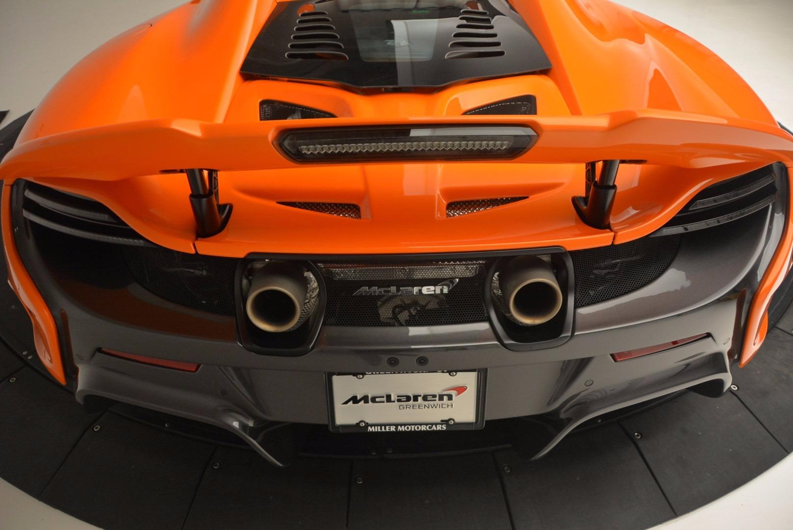 Used 2016 McLaren 675LT Spider Convertible For Sale In Westport, CT 1150_p31