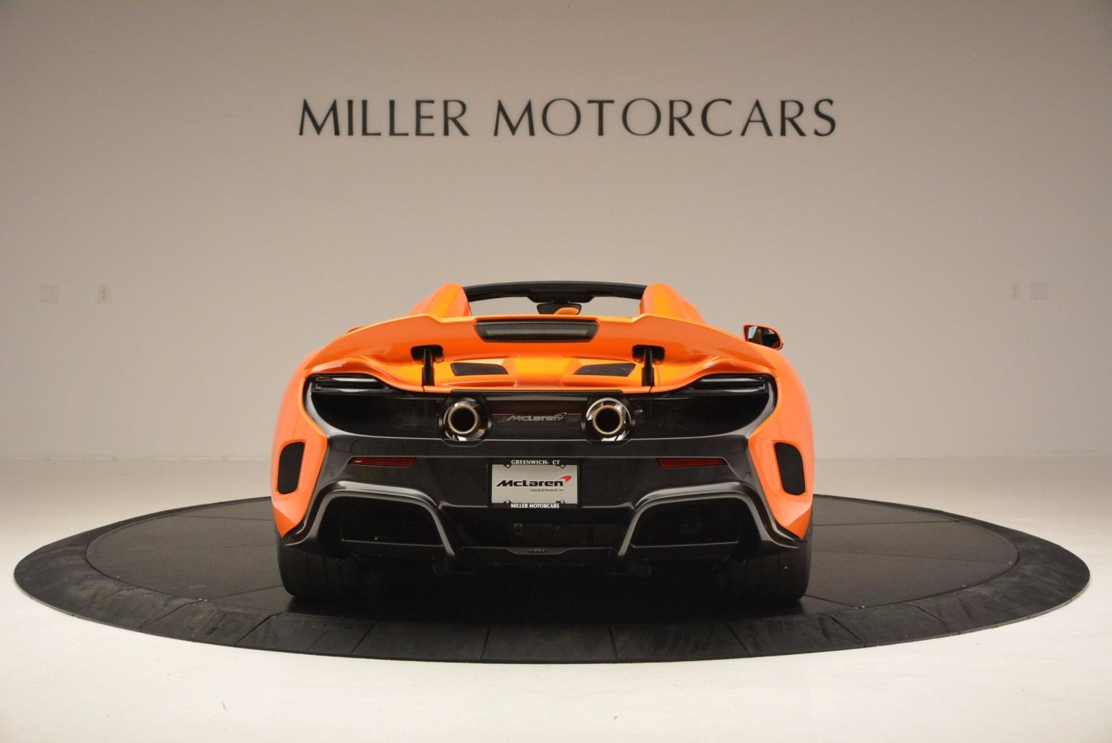 Used 2016 McLaren 675LT Spider Convertible For Sale In Westport, CT 1150_p6