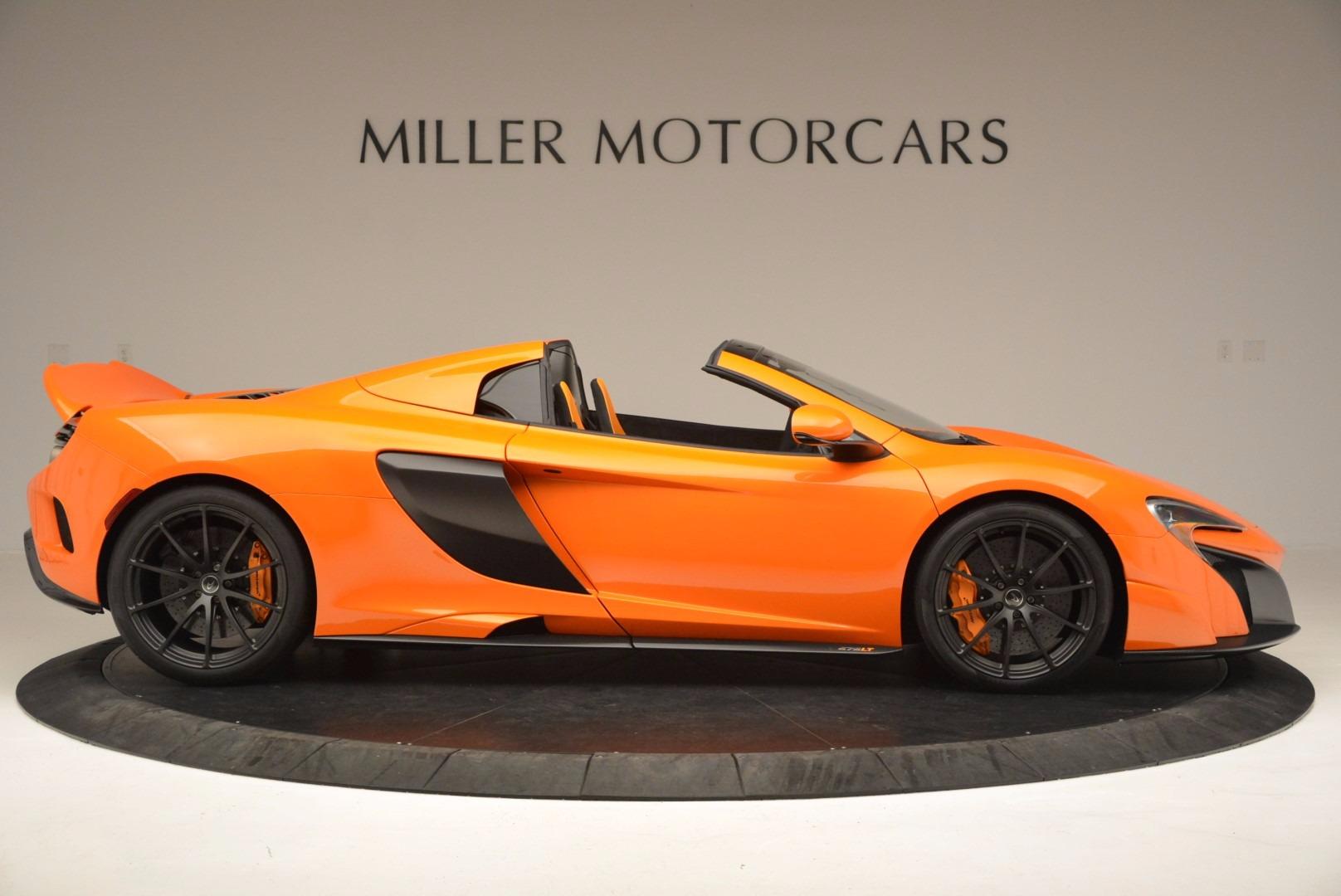 Used 2016 McLaren 675LT Spider Convertible For Sale In Westport, CT 1150_p9
