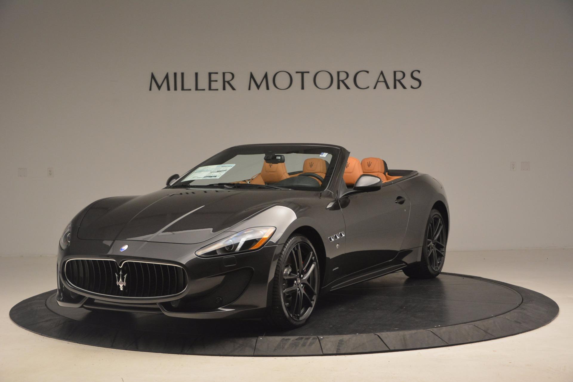 New 2017 Maserati GranTurismo Sport For Sale In Westport, CT 1154_main