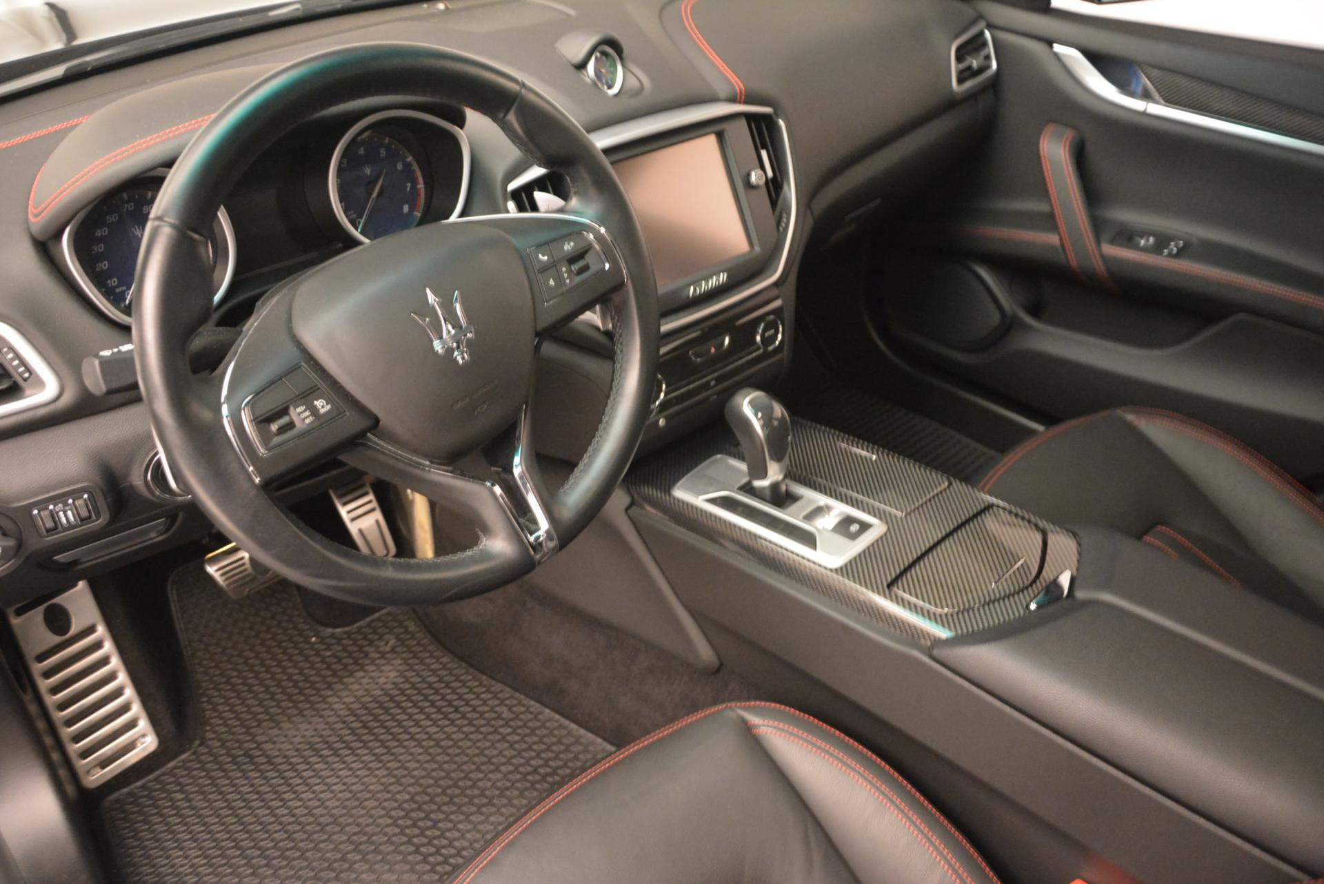 Used 2015 Maserati Ghibli S Q4 For Sale In Westport, CT 117_p12