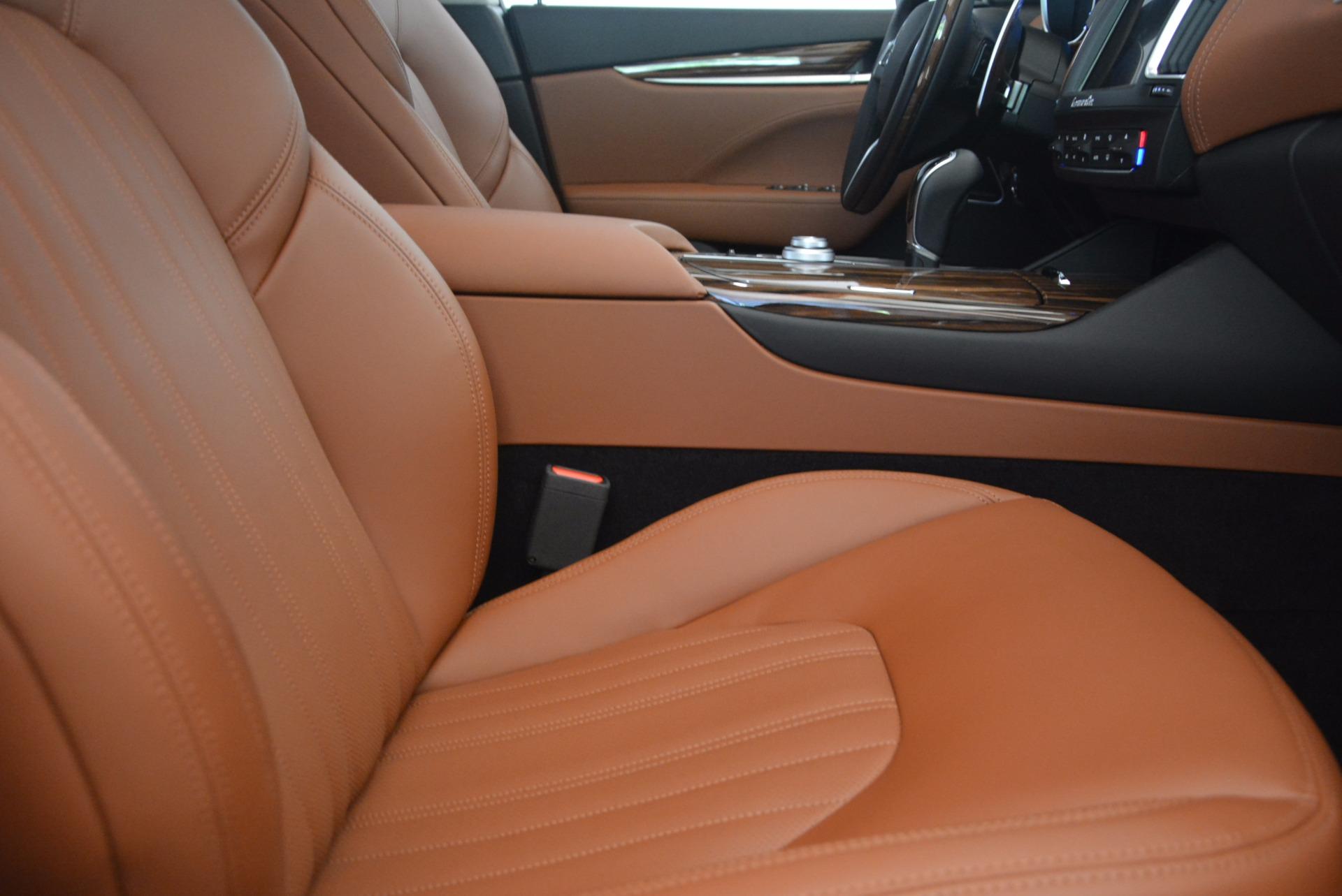 New 2017 Maserati Levante S For Sale In Westport, CT 1171_p21