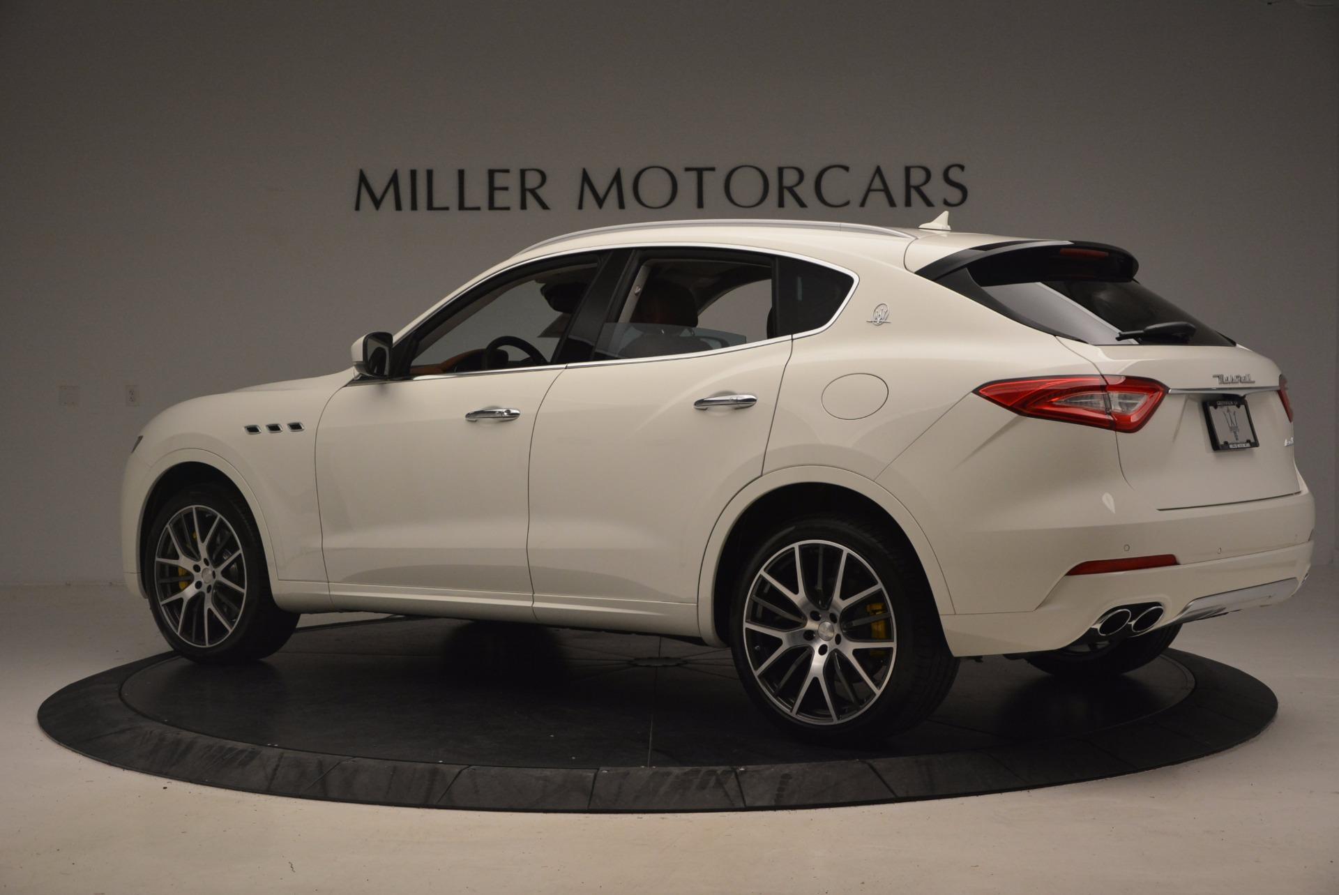 New 2017 Maserati Levante S For Sale In Westport, CT 1171_p4