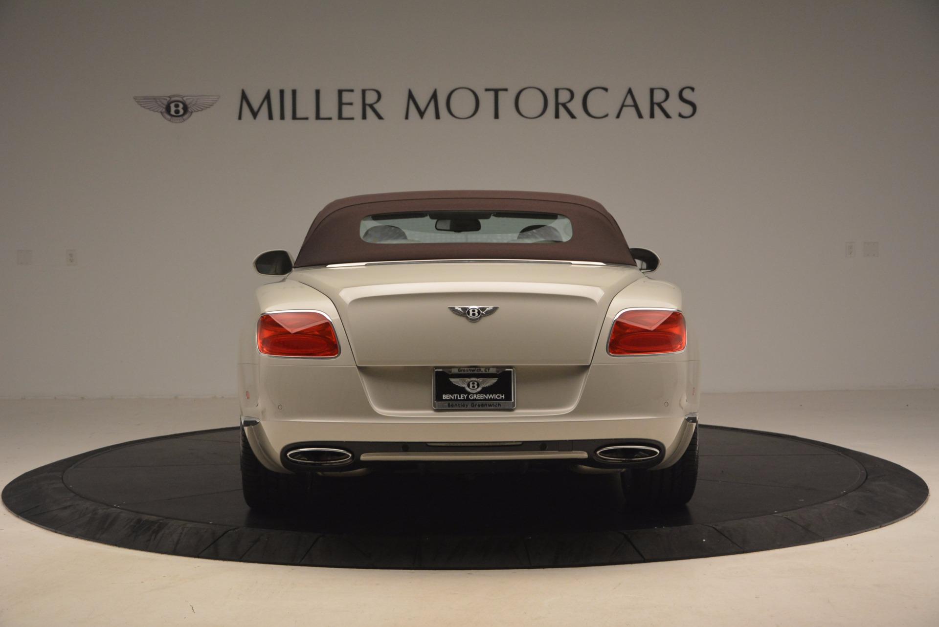 Used 2013 Bentley Continental GT  For Sale In Westport, CT 1172_p18