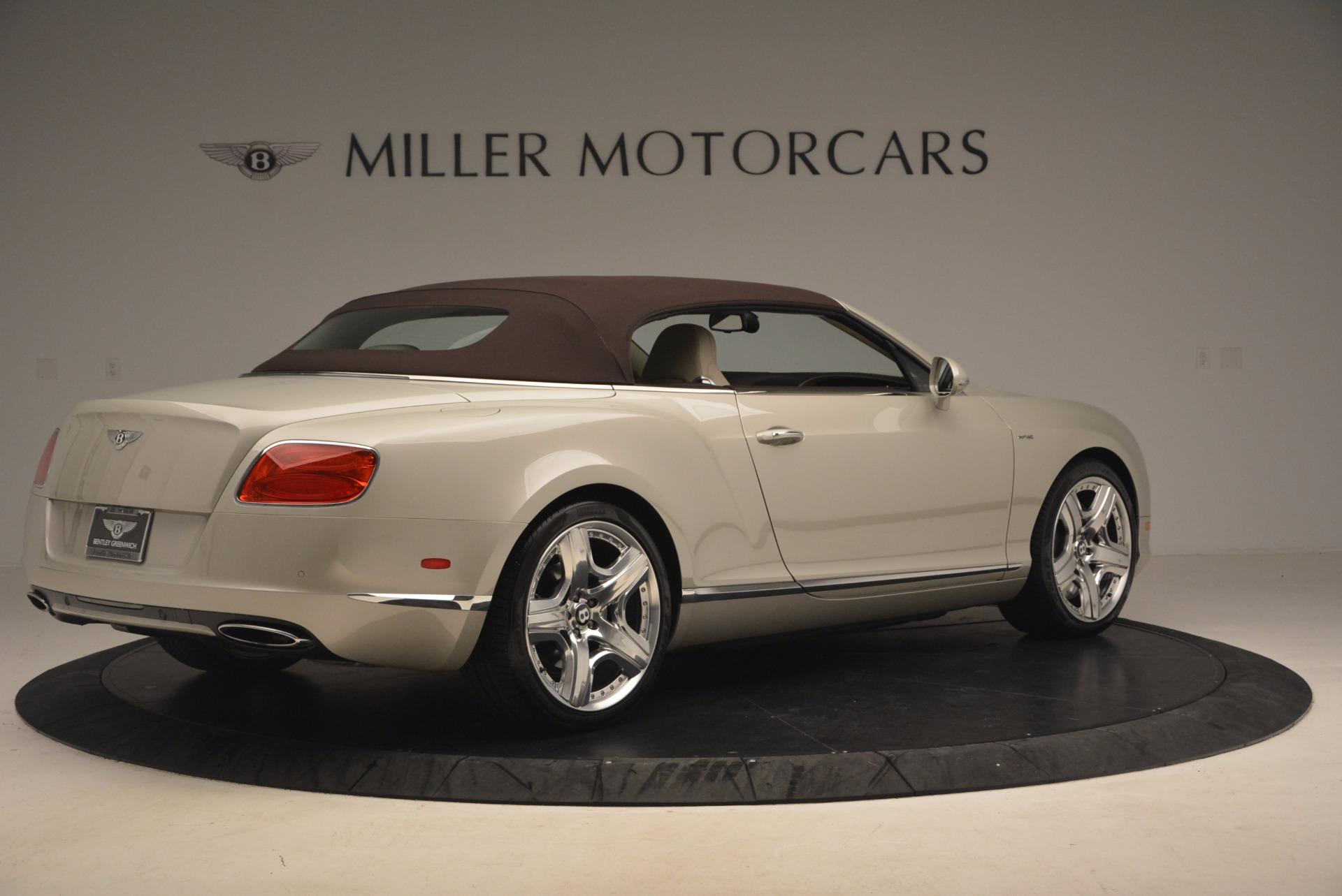 Used 2013 Bentley Continental GT  For Sale In Westport, CT 1172_p20