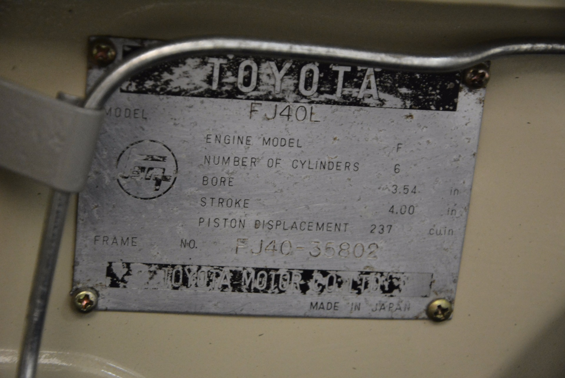 Used 1966 Toyota FJ40 Land Cruiser Land Cruiser For Sale In Westport, CT 1179_p32