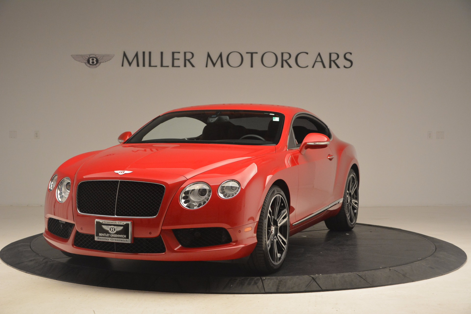 Used 2013 Bentley Continental GT V8 For Sale In Westport, CT 1185_main