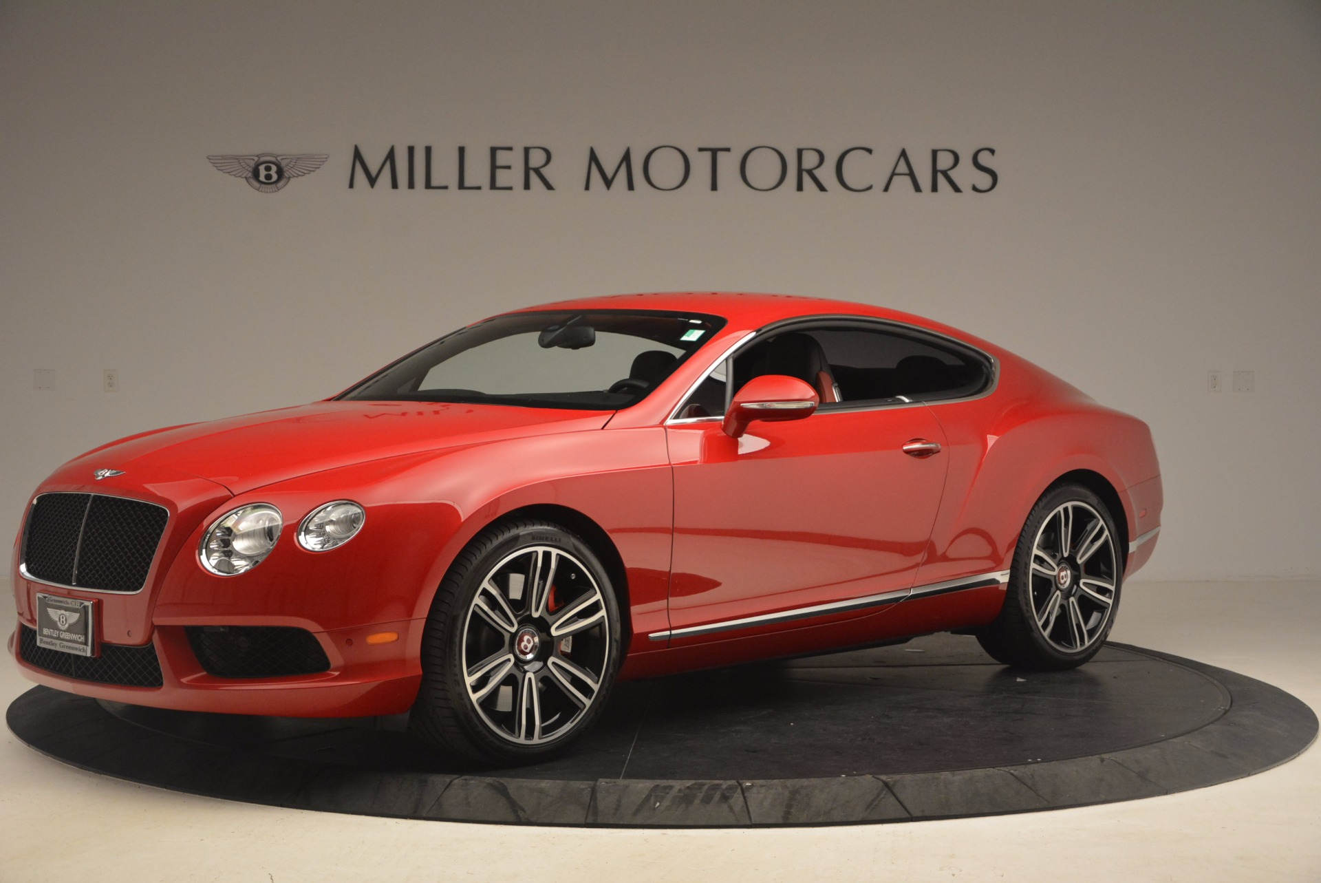 Used 2013 Bentley Continental GT V8 For Sale In Westport, CT 1185_p2