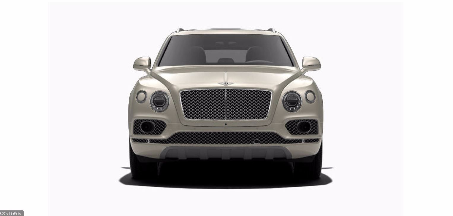 Used 2017 Bentley Bentayga W12 For Sale In Westport, CT 1209_p2