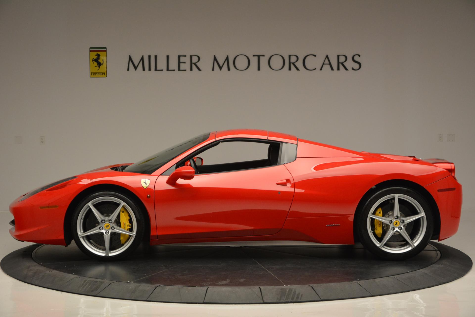 Used 2014 Ferrari 458 Spider  For Sale In Westport, CT 122_p15