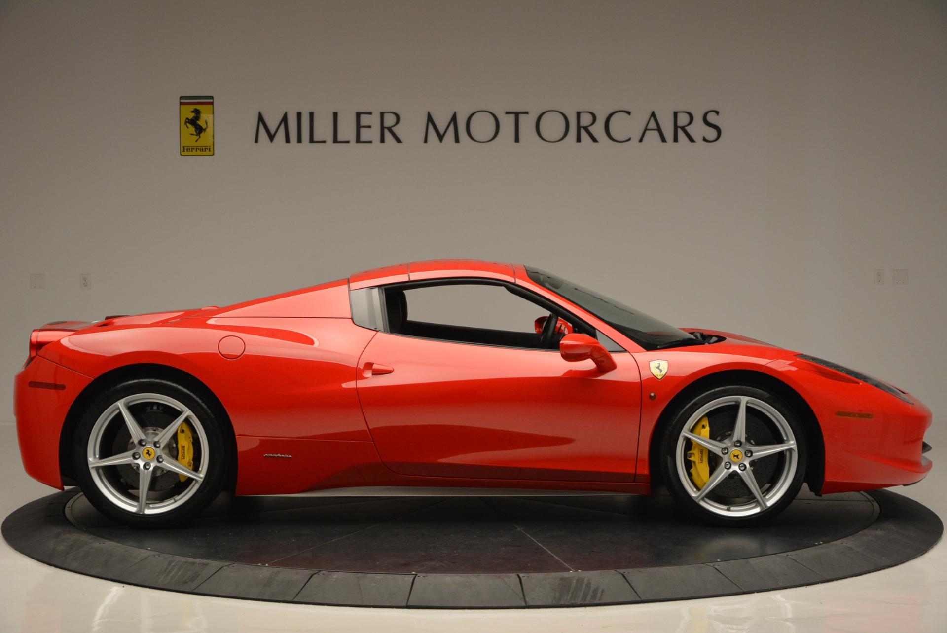 Used 2014 Ferrari 458 Spider  For Sale In Westport, CT 122_p21