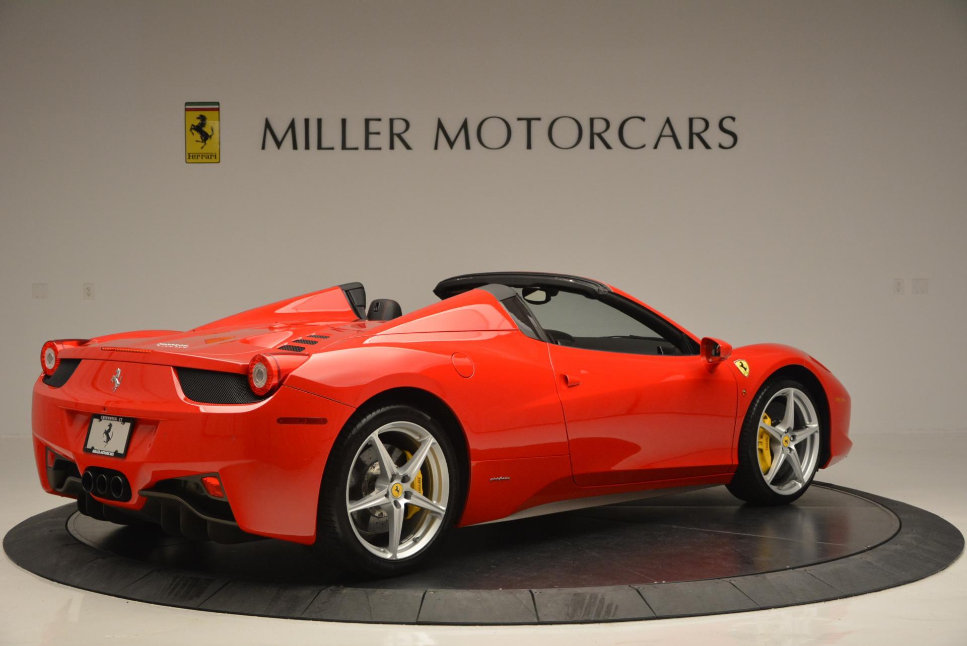 Used 2014 Ferrari 458 Spider  For Sale In Westport, CT 122_p8