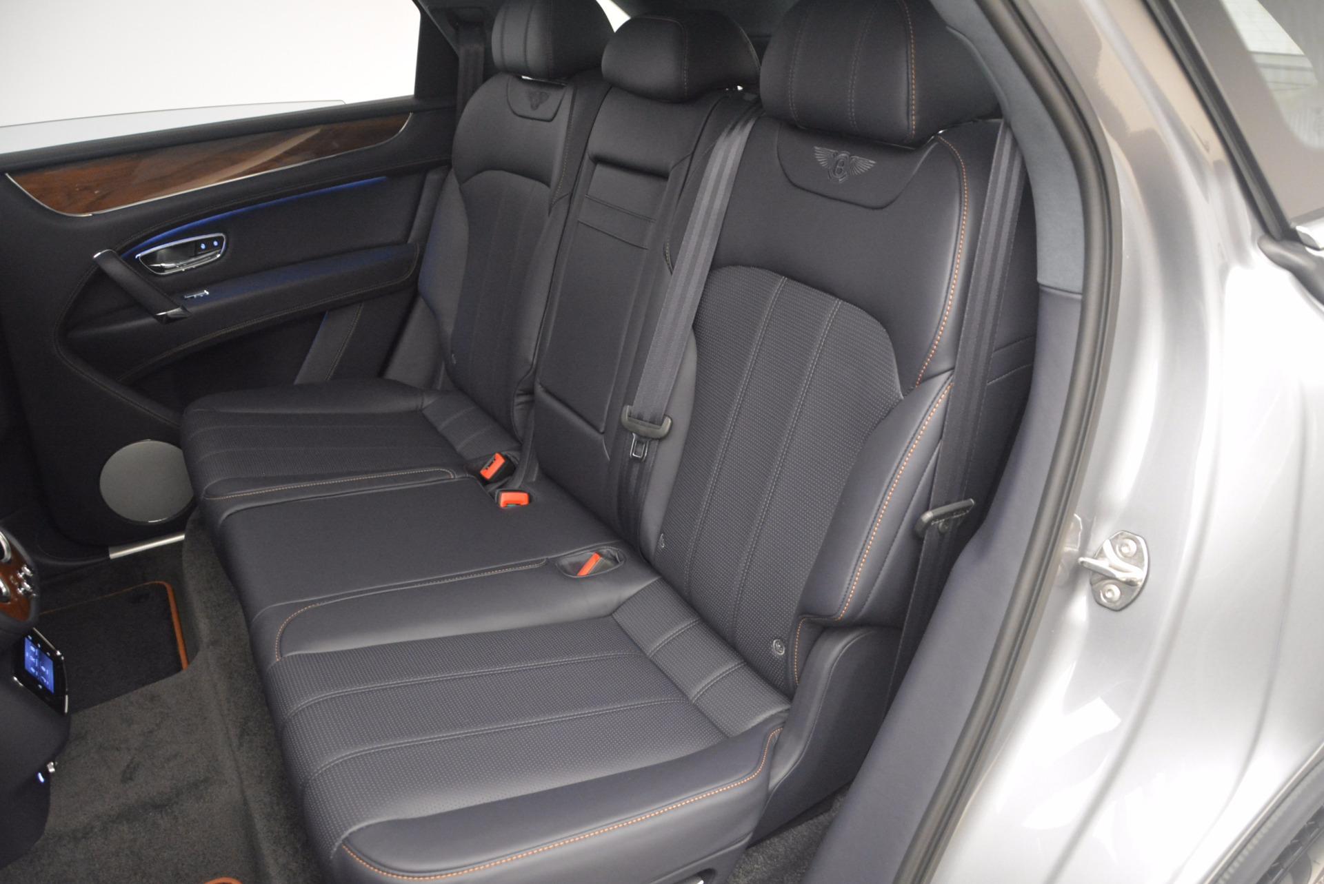 New 2018 Bentley Bentayga Onyx For Sale In Westport, CT 1220_p29