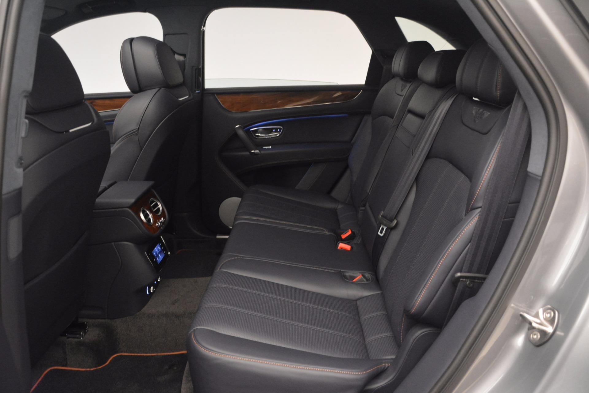 New 2018 Bentley Bentayga Onyx For Sale In Westport, CT 1220_p30