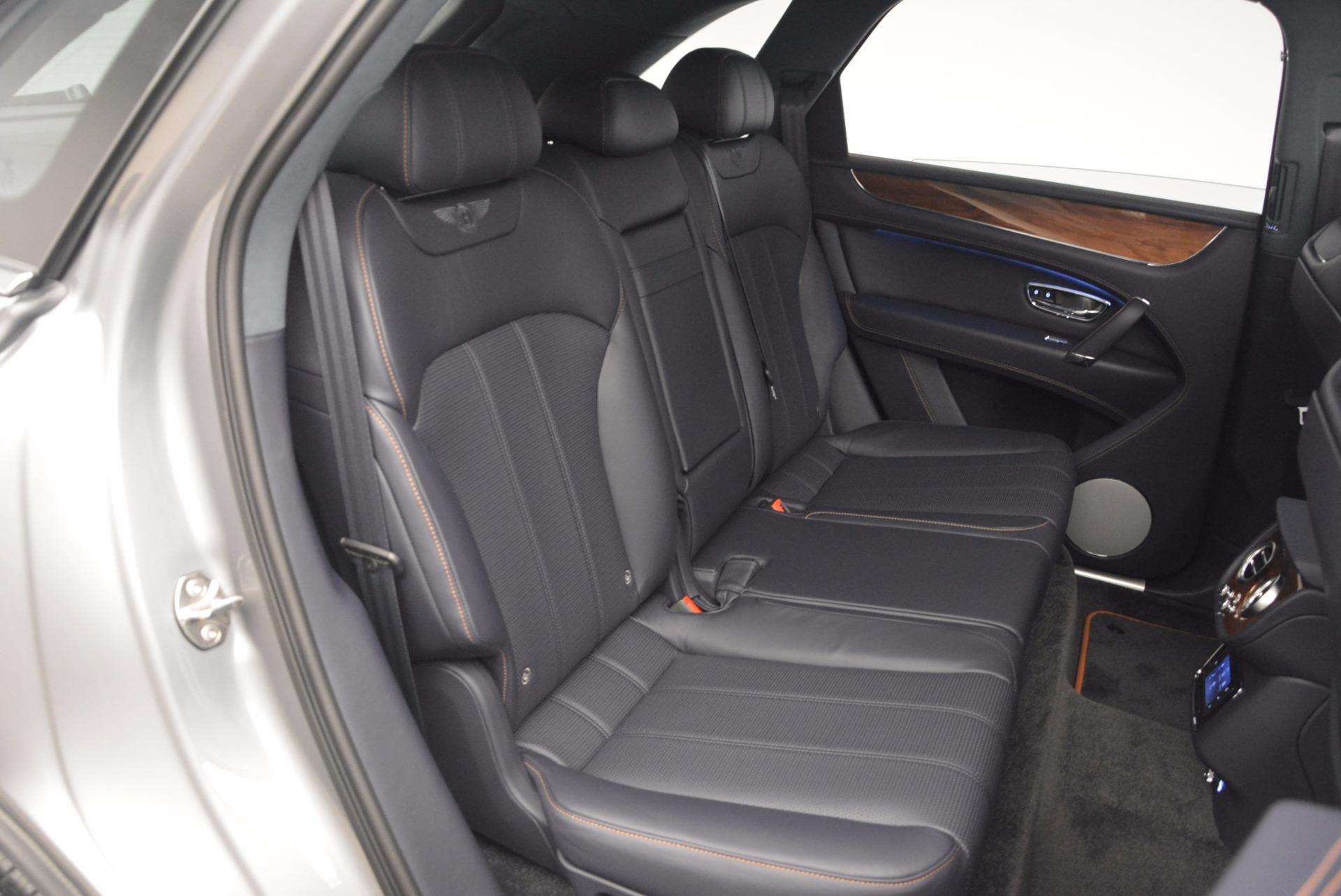 New 2018 Bentley Bentayga Onyx For Sale In Westport, CT 1220_p34