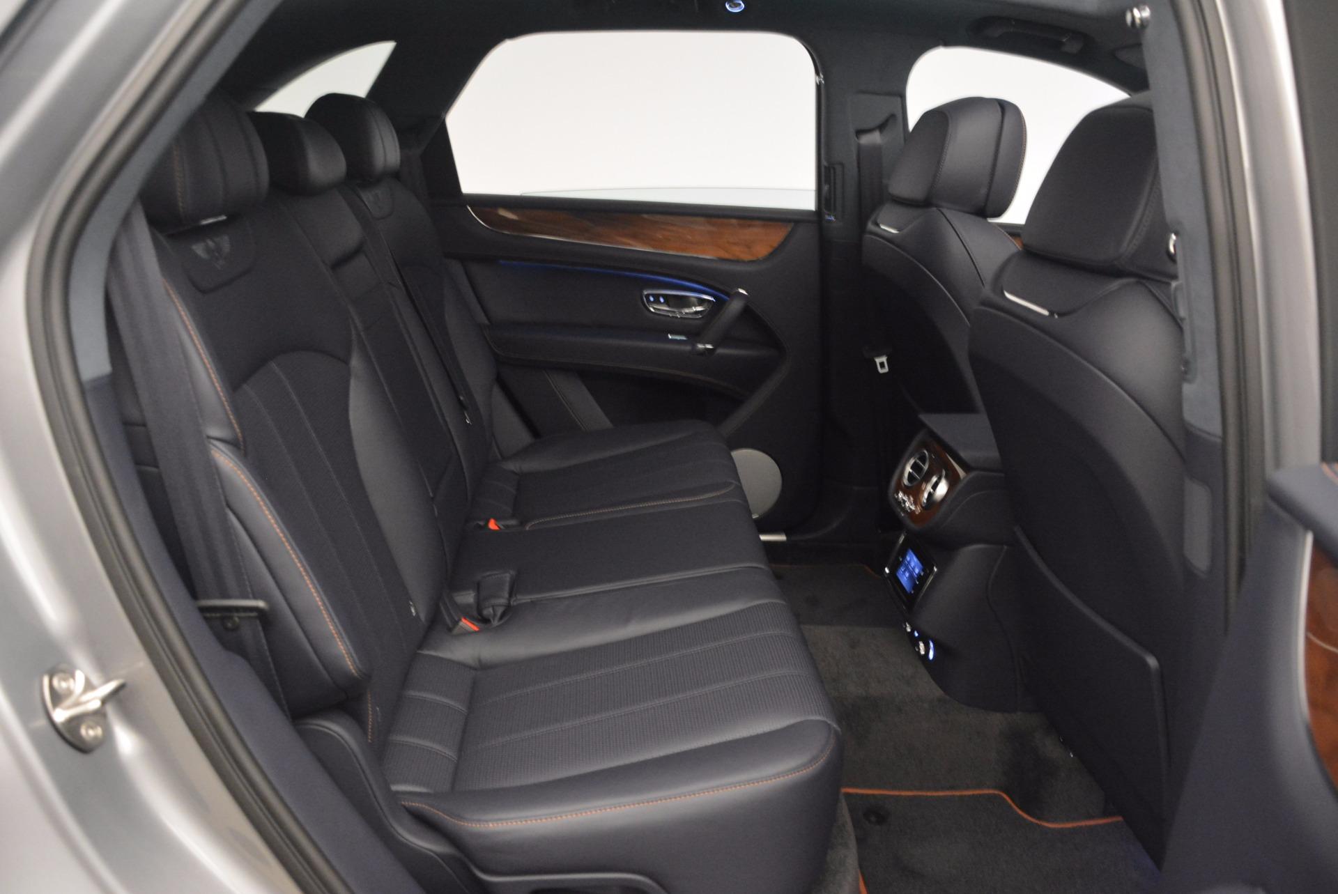 New 2018 Bentley Bentayga Onyx For Sale In Westport, CT 1220_p35
