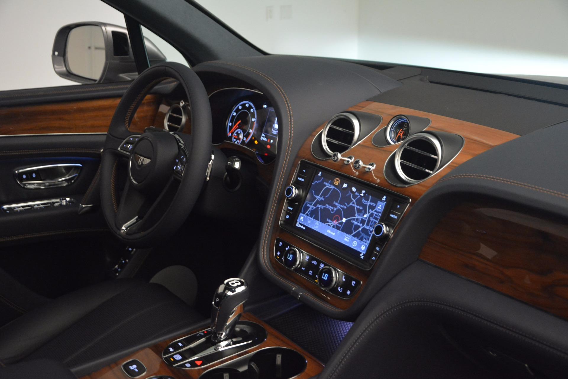 New 2018 Bentley Bentayga Onyx For Sale In Westport, CT 1220_p41