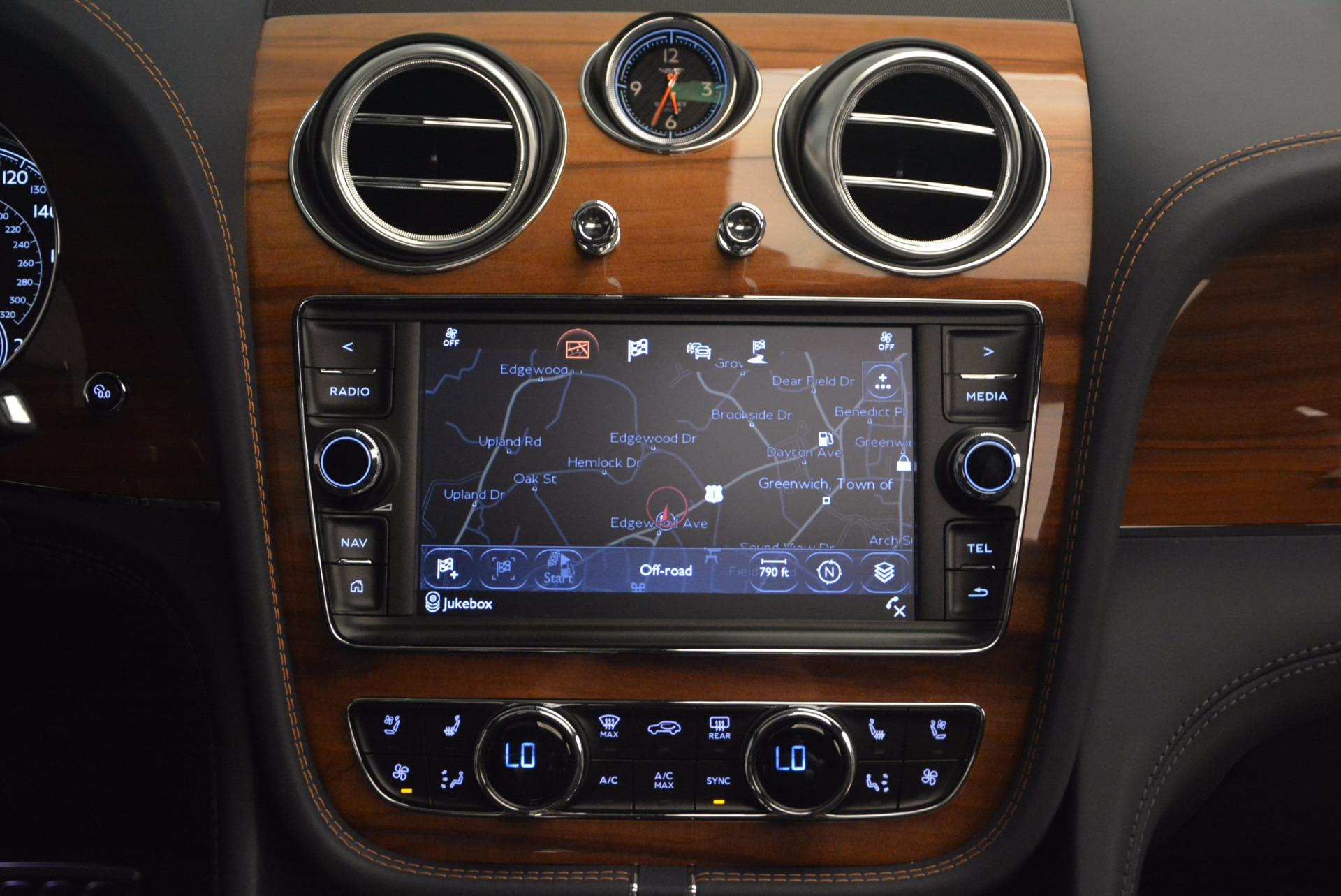 New 2018 Bentley Bentayga Onyx For Sale In Westport, CT 1220_p43