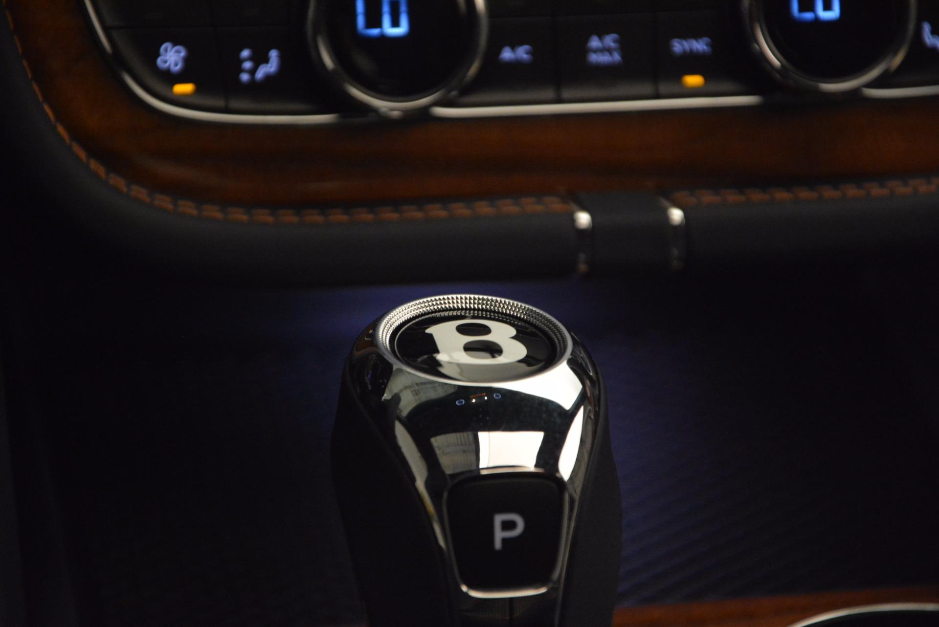 New 2018 Bentley Bentayga Onyx For Sale In Westport, CT 1220_p45
