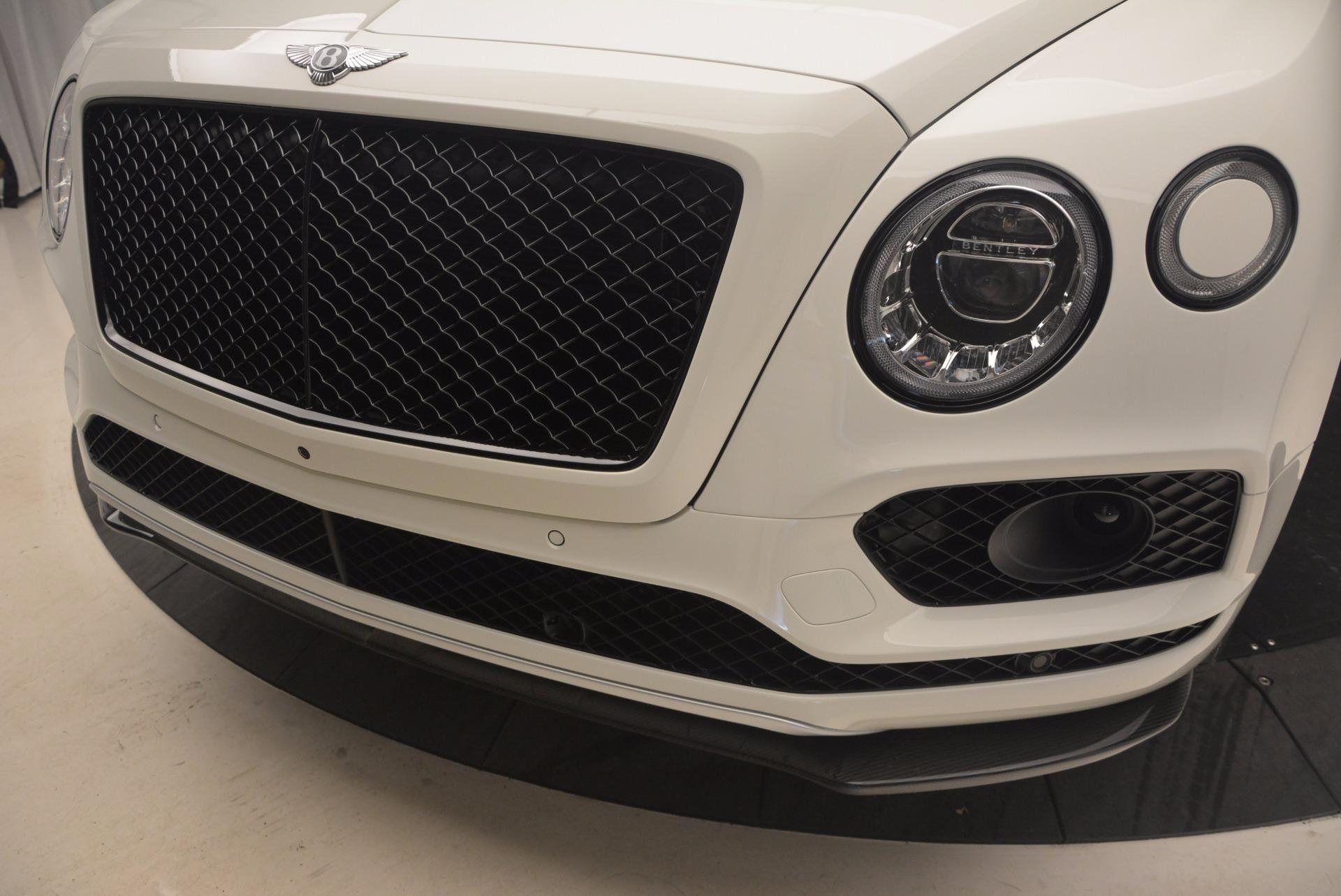 New 2018 Bentley Bentayga Black Edition For Sale In Westport, CT 1221_p15