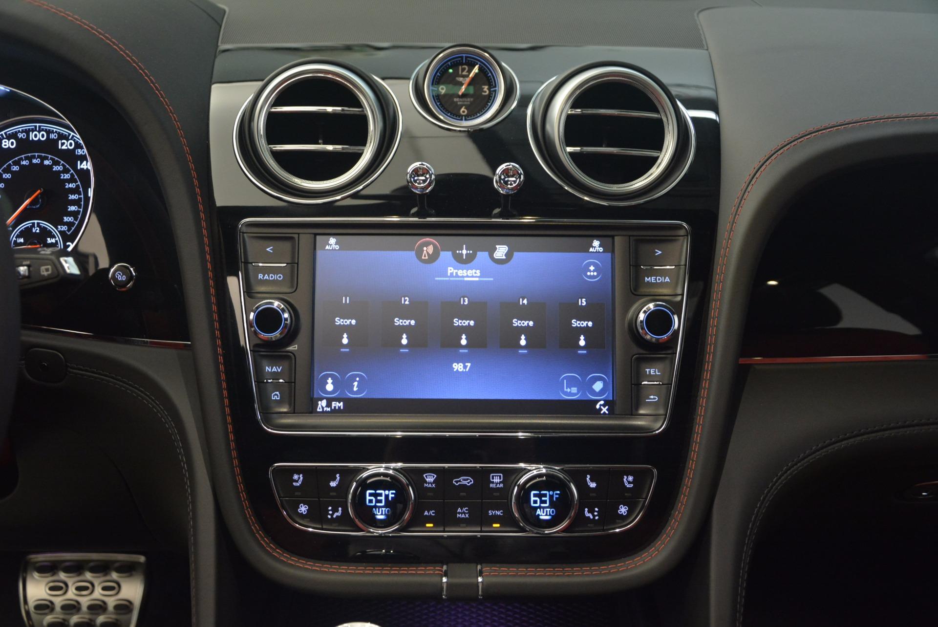 New 2018 Bentley Bentayga Black Edition For Sale In Westport, CT 1221_p43