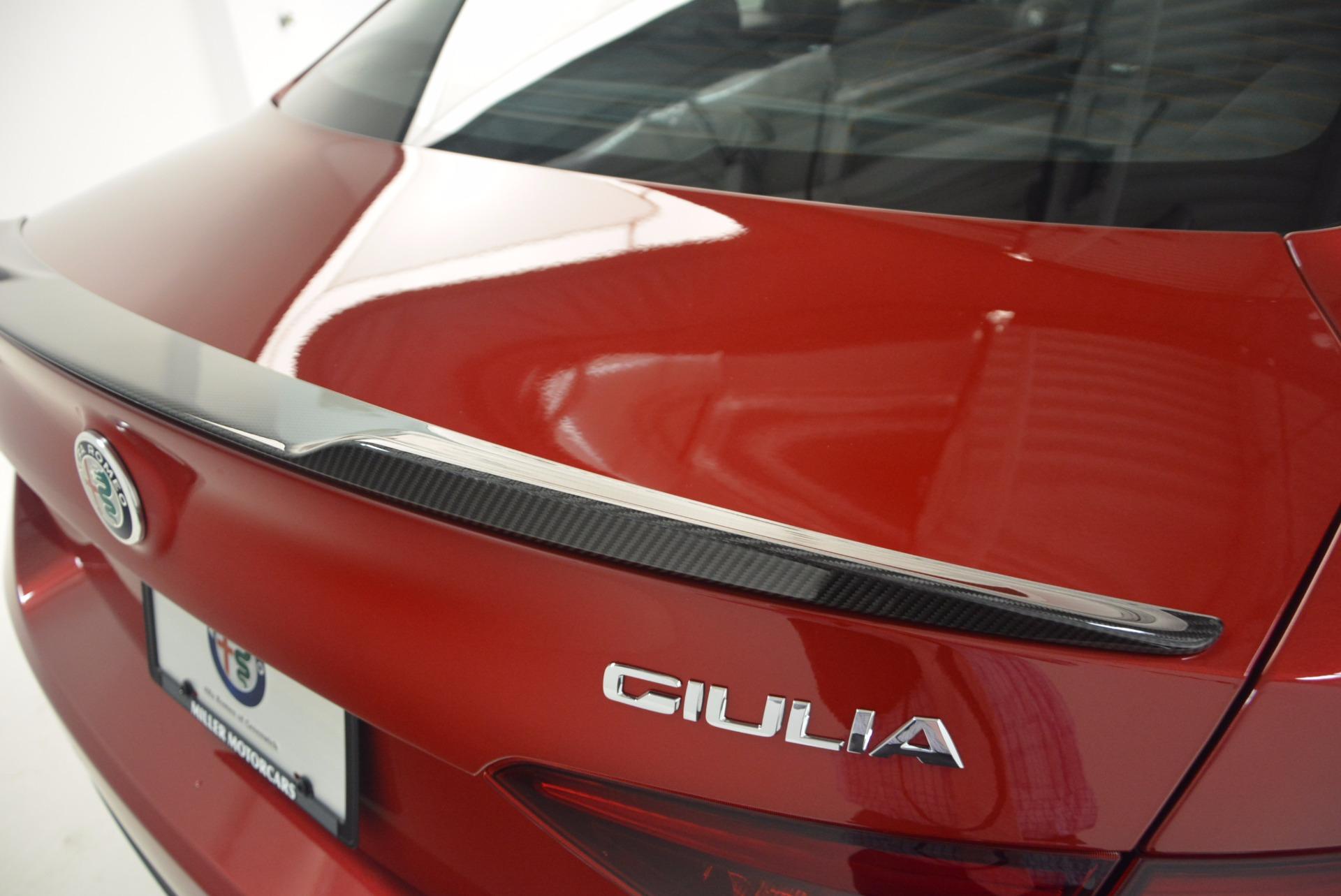 New 2017 Alfa Romeo Giulia Quadrifoglio Quadrifoglio For Sale In Westport, CT 1226_p27