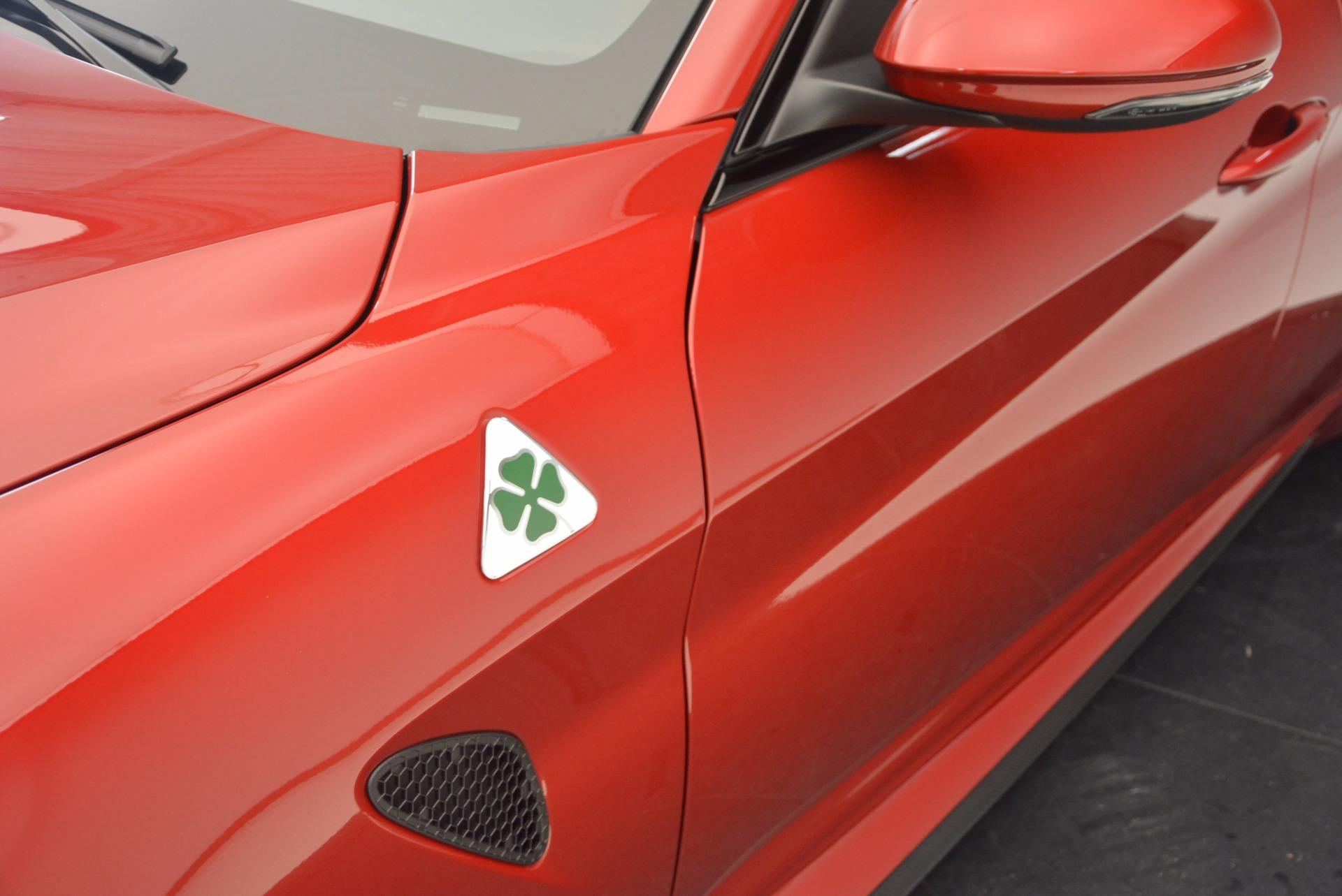 New 2017 Alfa Romeo Giulia Quadrifoglio Quadrifoglio For Sale In Westport, CT 1226_p28